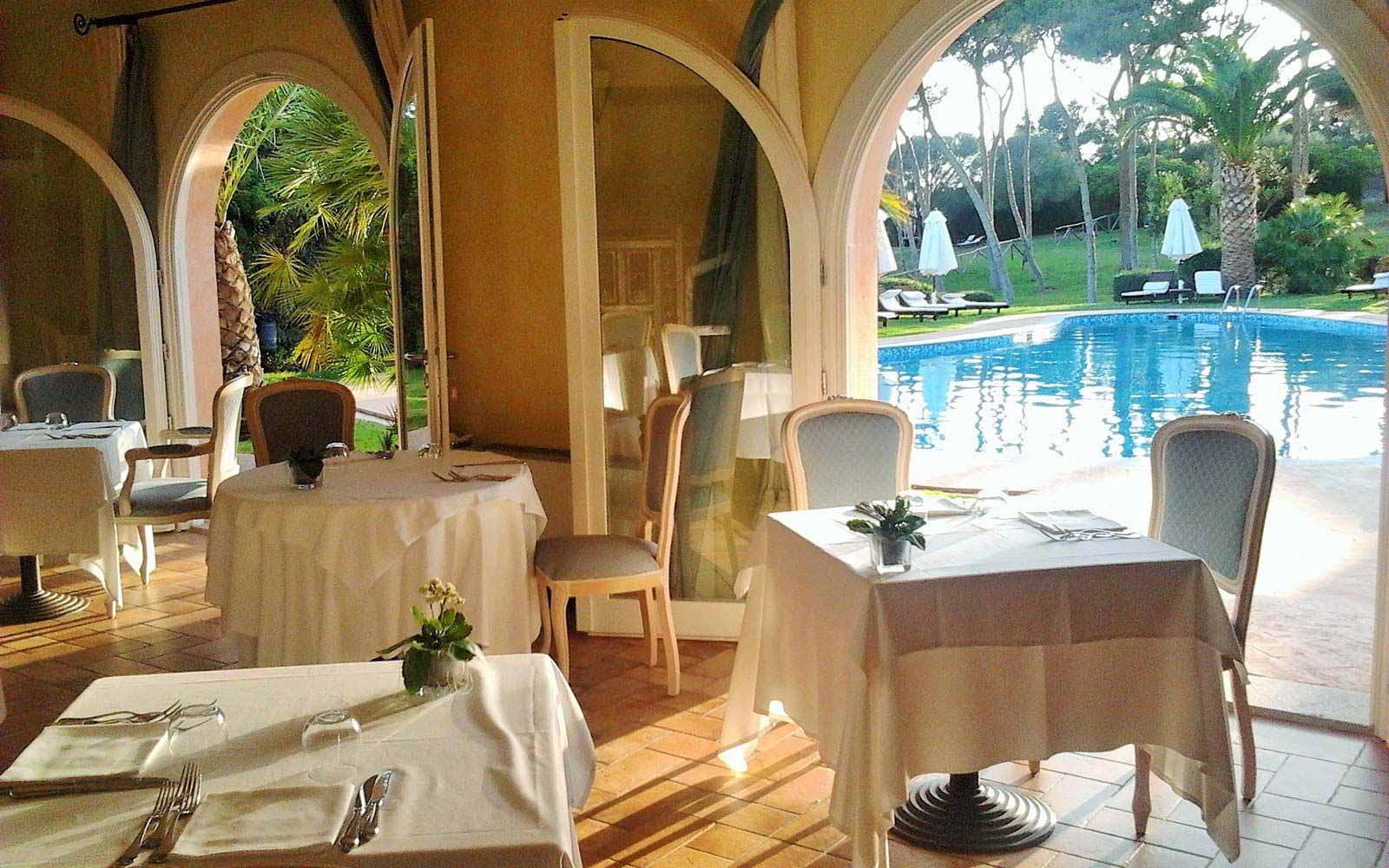 Restaurant at Hotel Cala Caterina