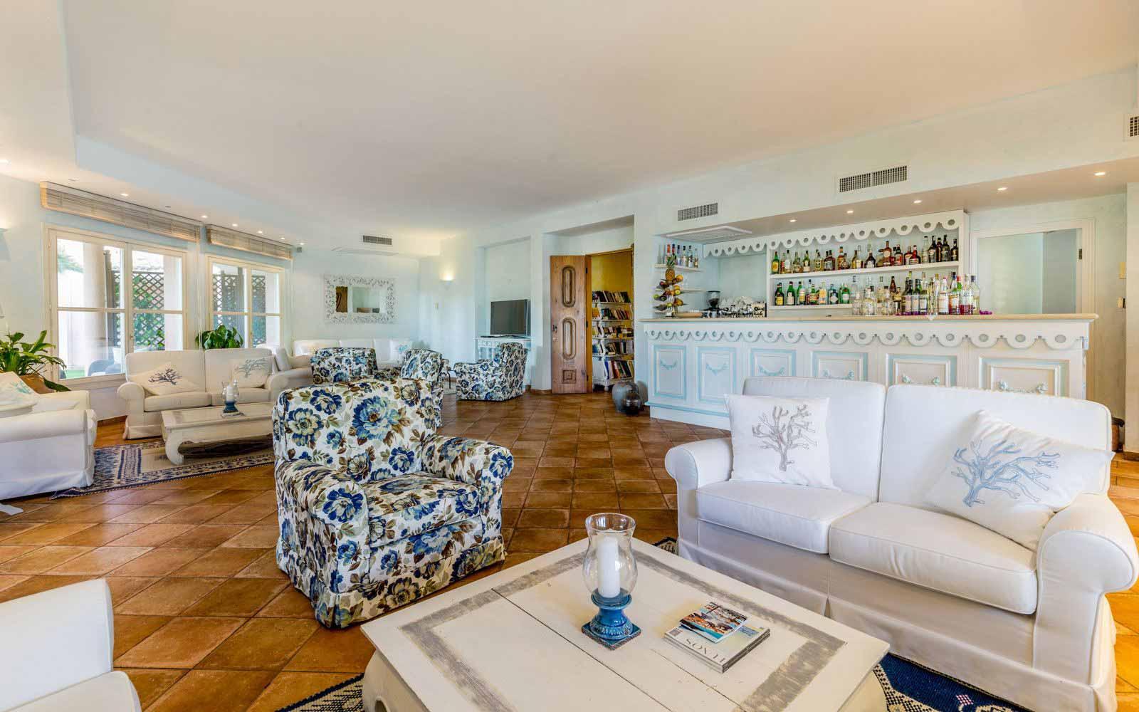 Lounge at Hotel Cala Caterina