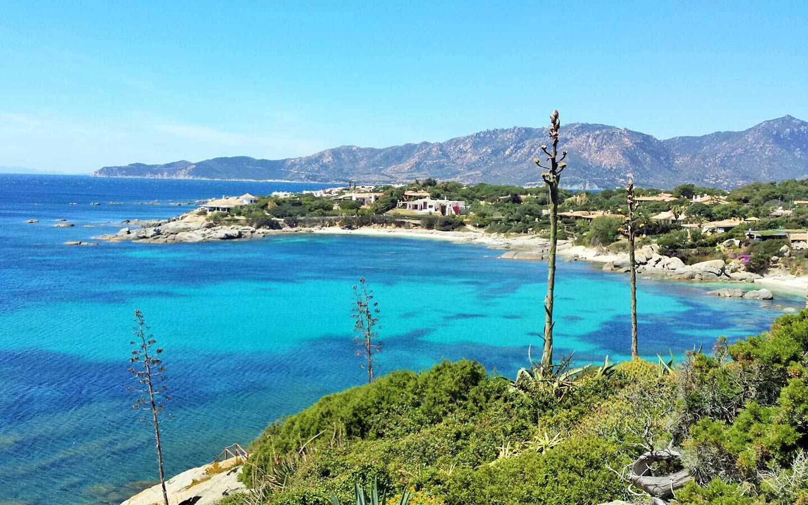 Bay view of Hotel Cala Caterina