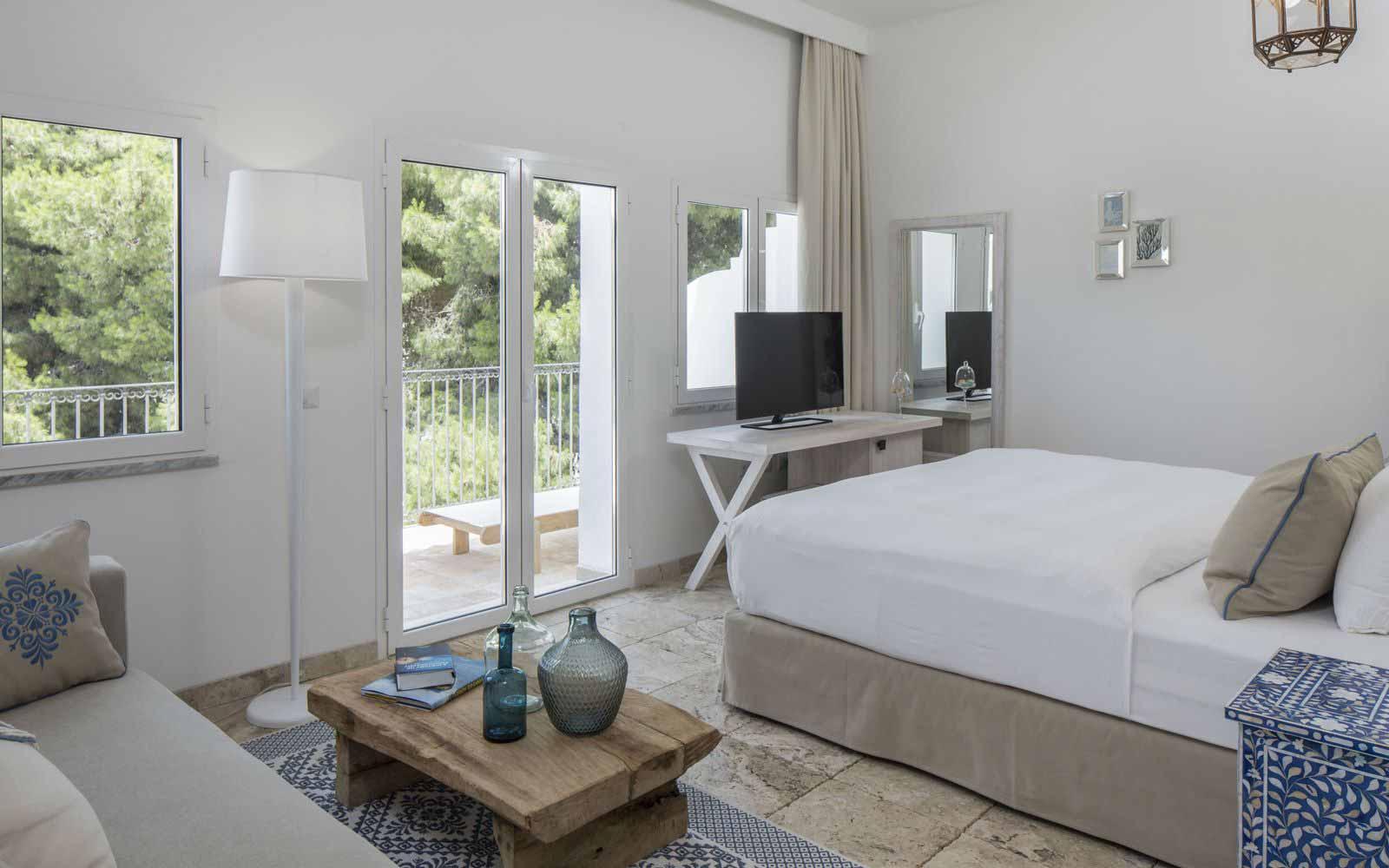 Standard room at Capo Boi Resort