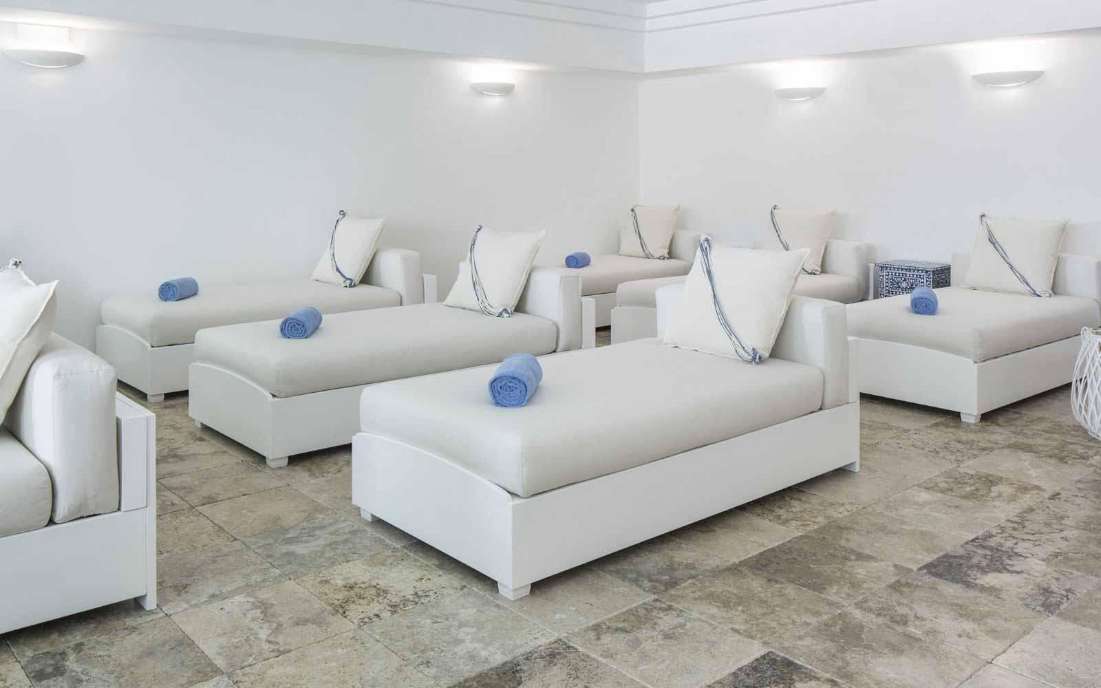 Aquapura Spa Relaxing area at Capo Boi Resorti