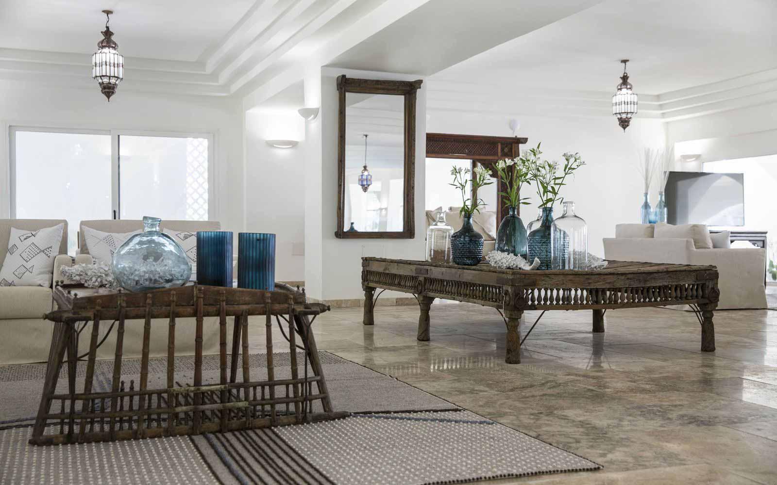 Lounge at Capo Boi Resort