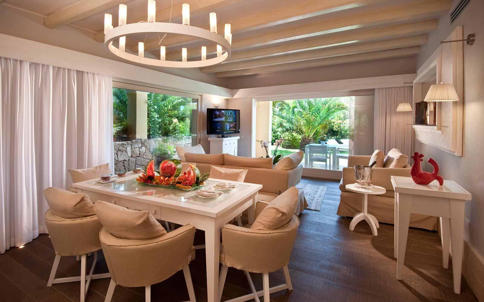 Villa Lavinia interior at Forte Village Resort