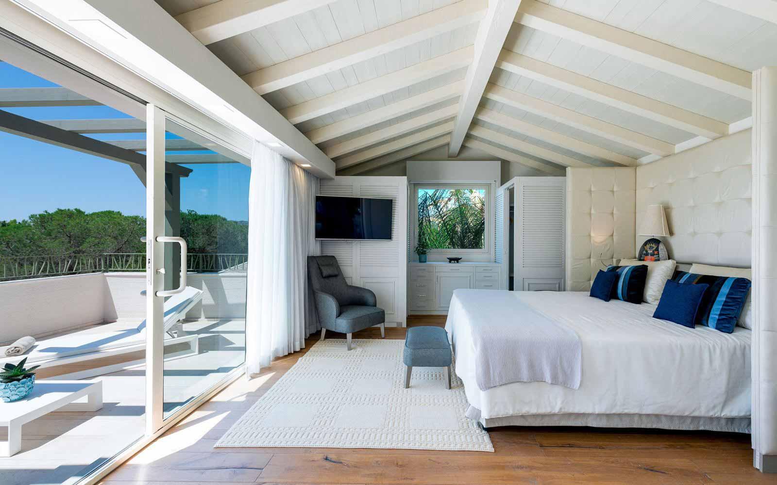 Villa Sofia bedroom at Forte Village Resort