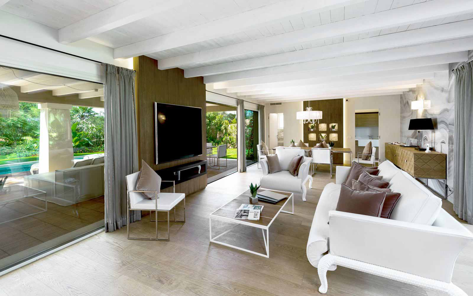 Villa Aurora interior at Forte Village Resort