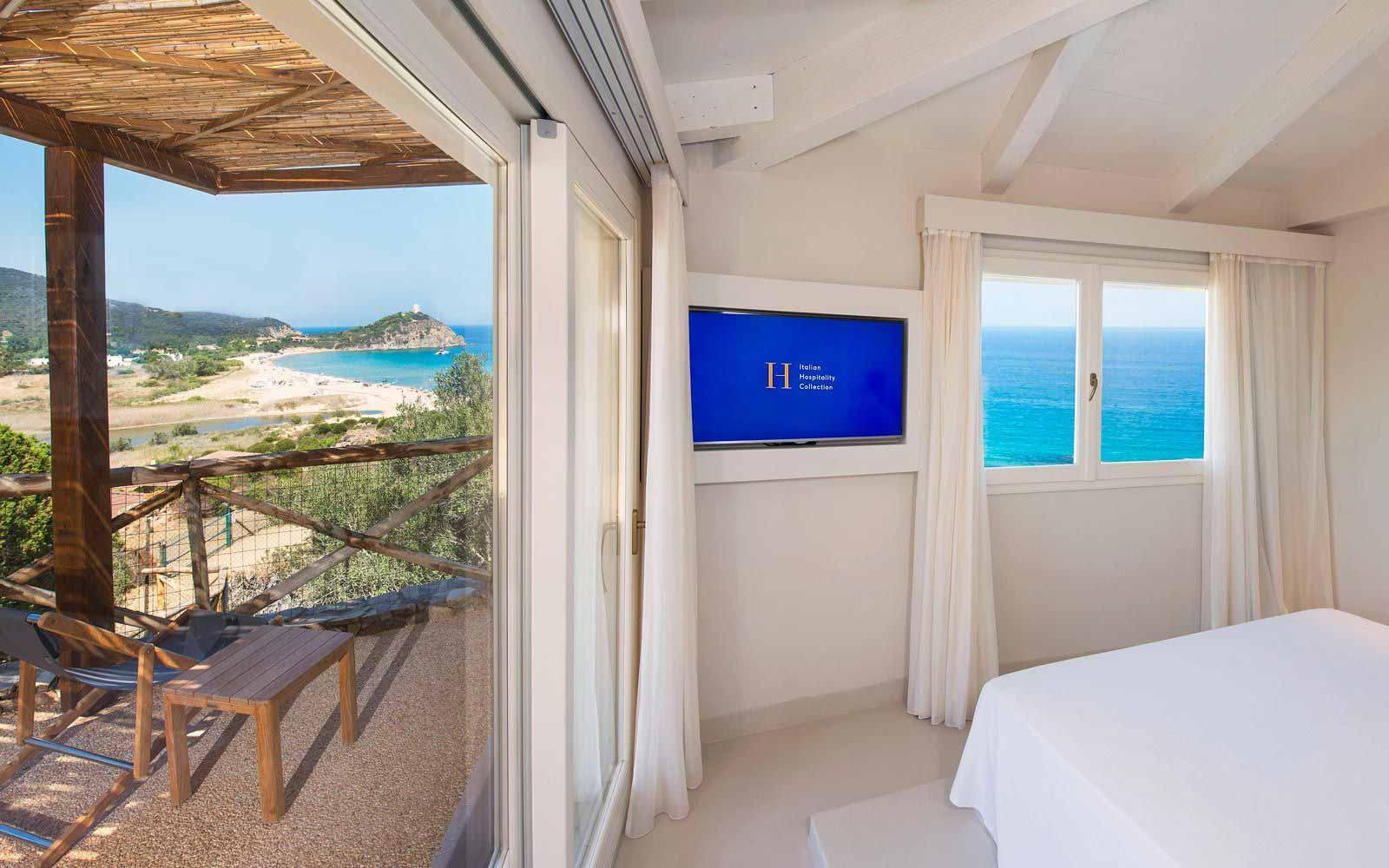 Suite at  Chia Laguna Resort Hotel Baia
