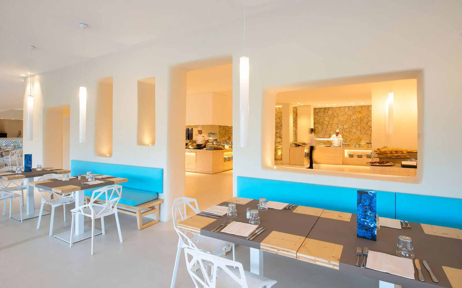 La Pergola restaurant at  Chia Laguna Resort Hotel Baia