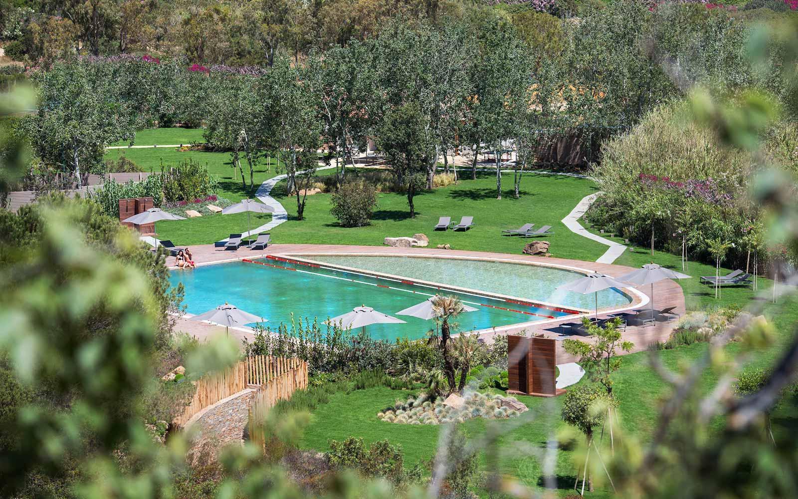 Pool at Chia Laguna Resort Hotel Baia
