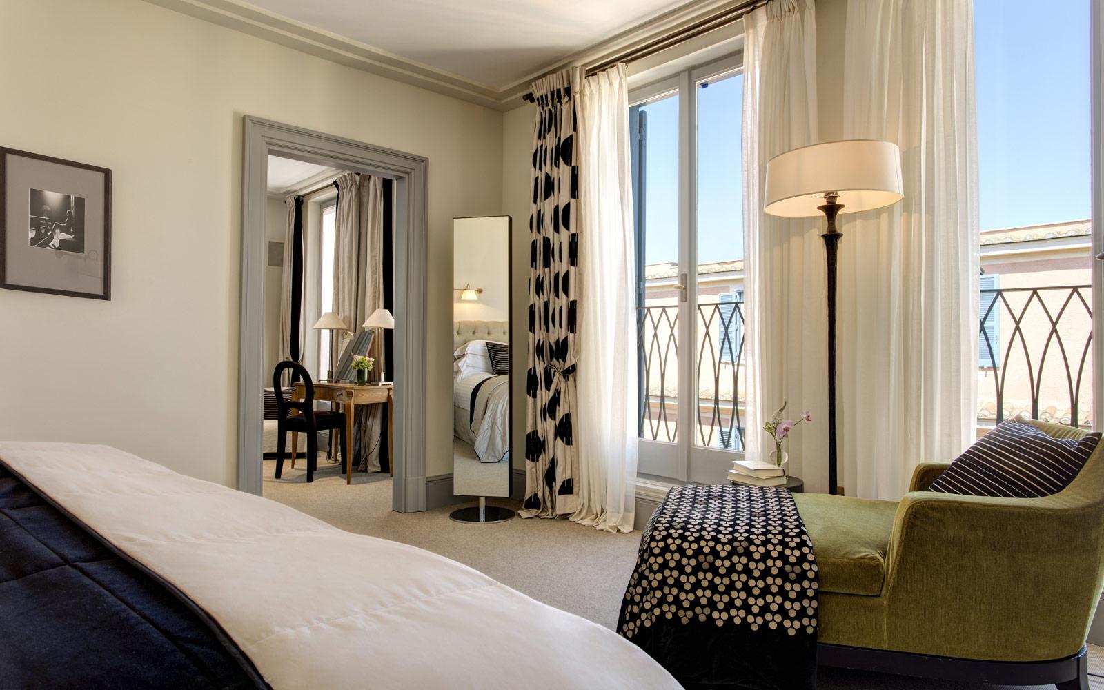Hotel de Russie Nijinsky Suite Bedroom