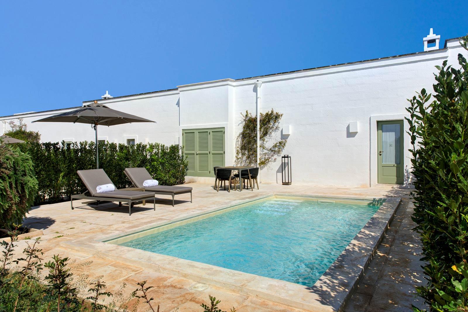 Masseria Torre Maizza Deluxe Suite Plunge Pool