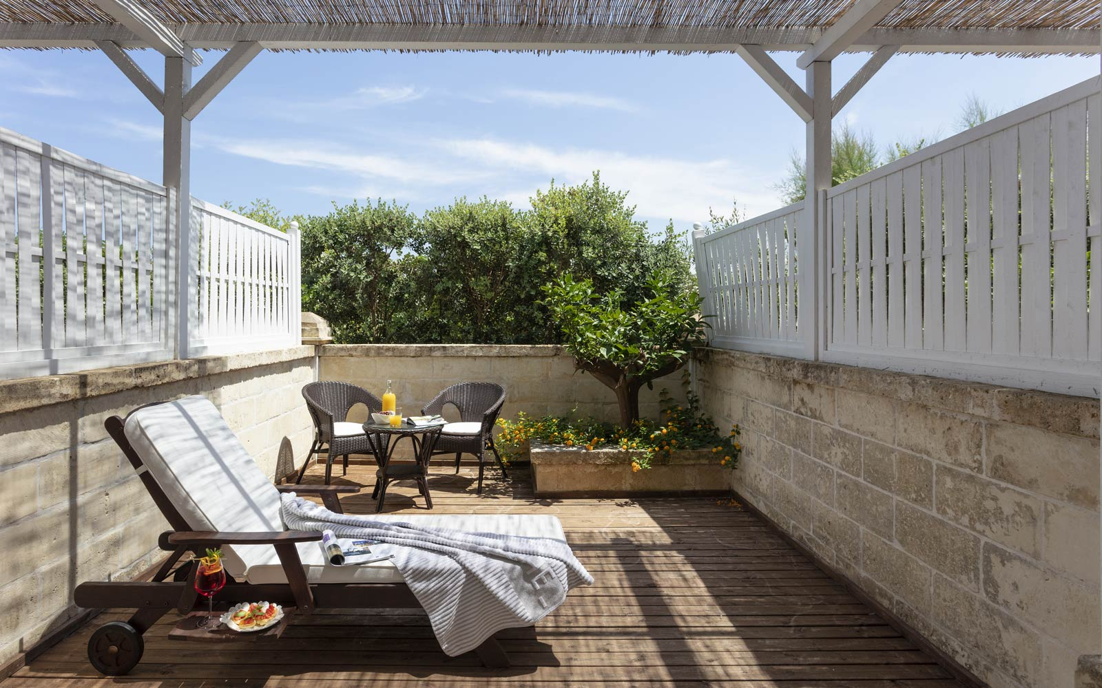 Canne Bianche Classic Room Outdoor Area