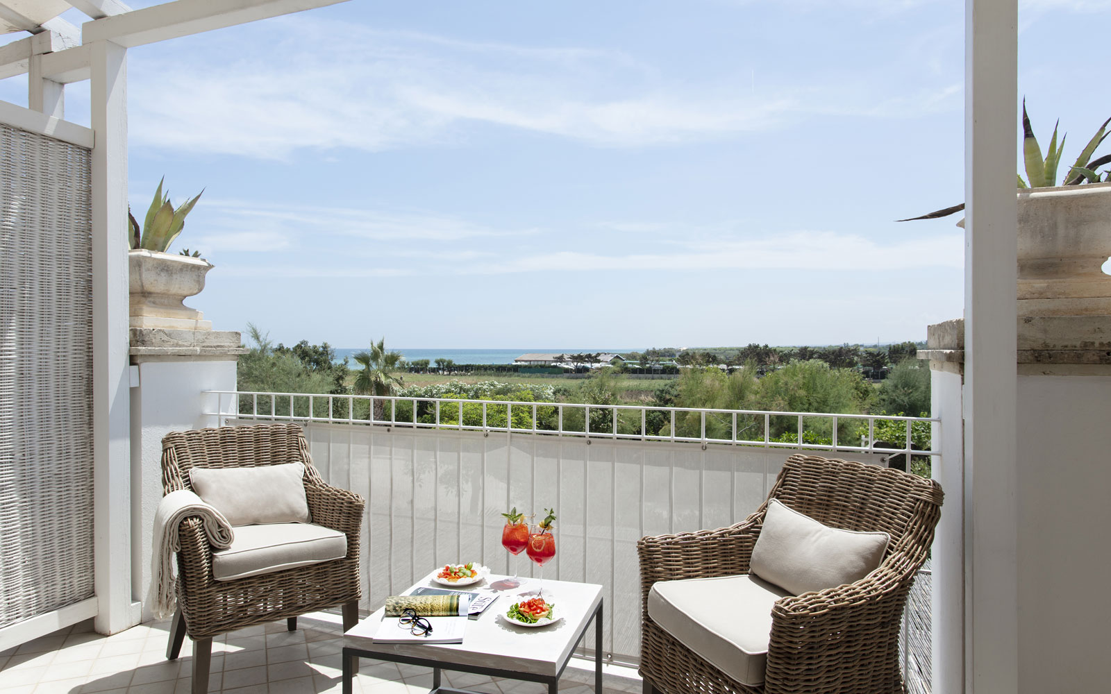 Canne Bianche Superior Room Terrace