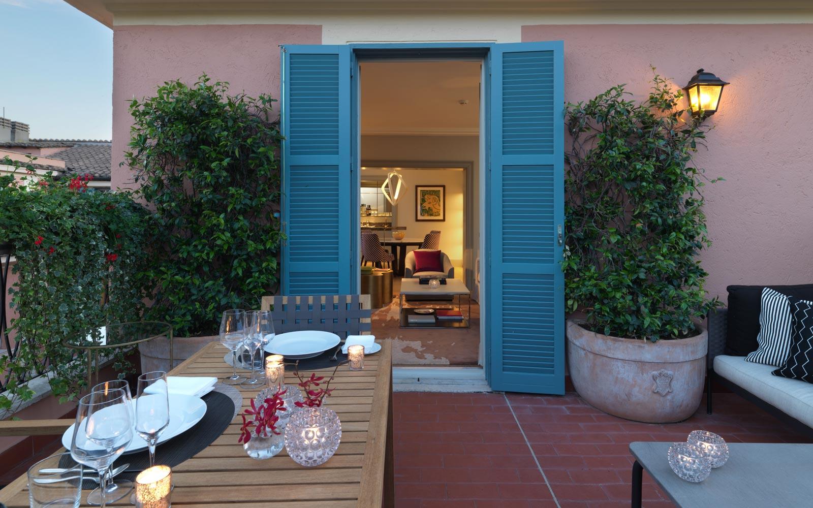 Hotel de Russie Picasso Suite Terrace
