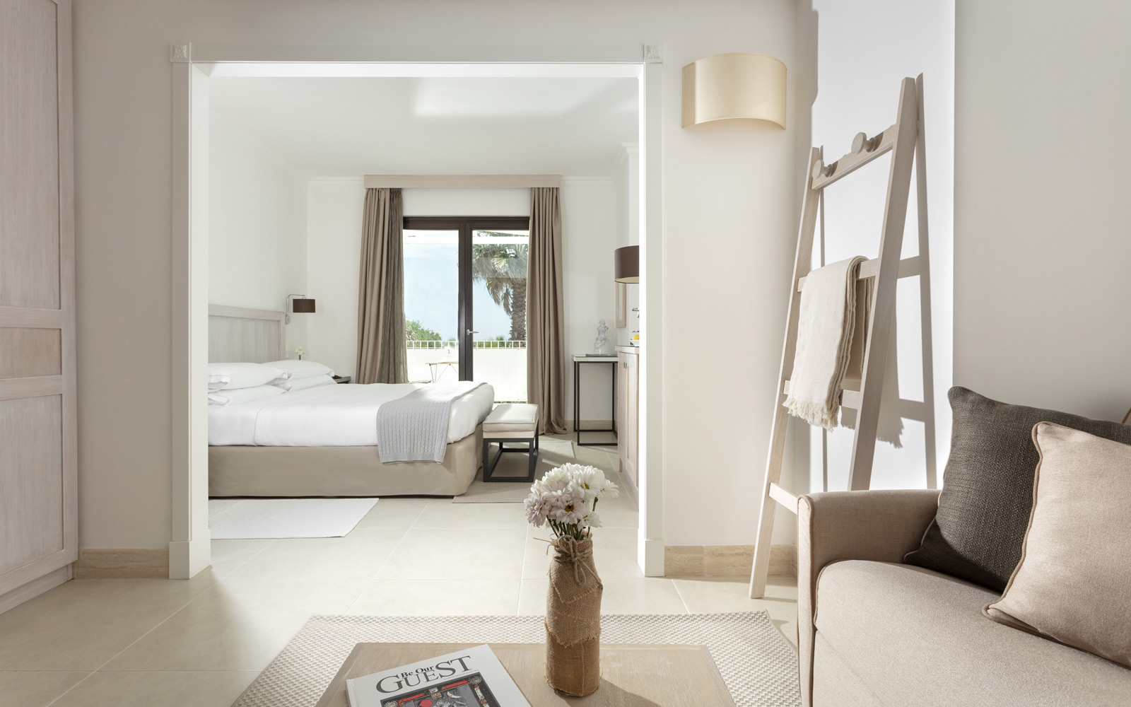 Canne Bianche Junior Suite Side Sea View Room