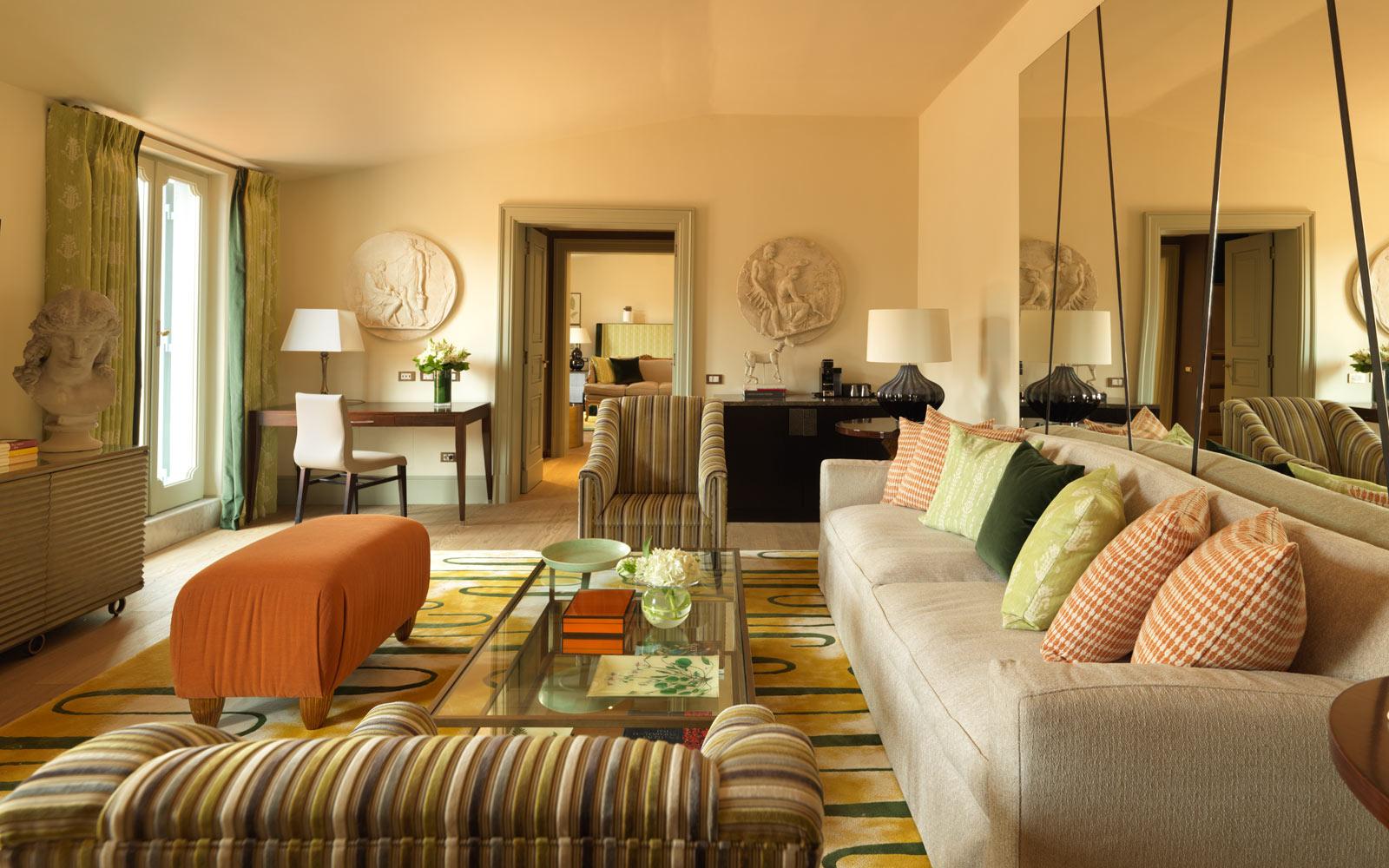 Hotel de Russie Popolo Suite Living Room
