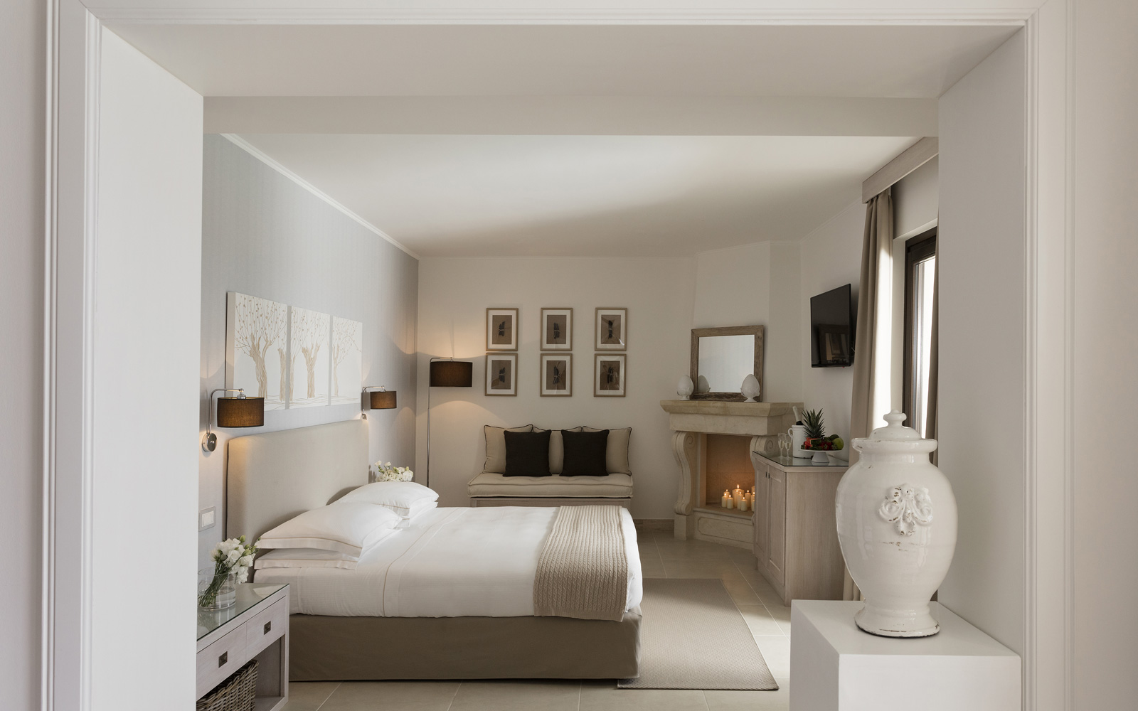 Canne Bianche Junior Suite Front Sea View Room