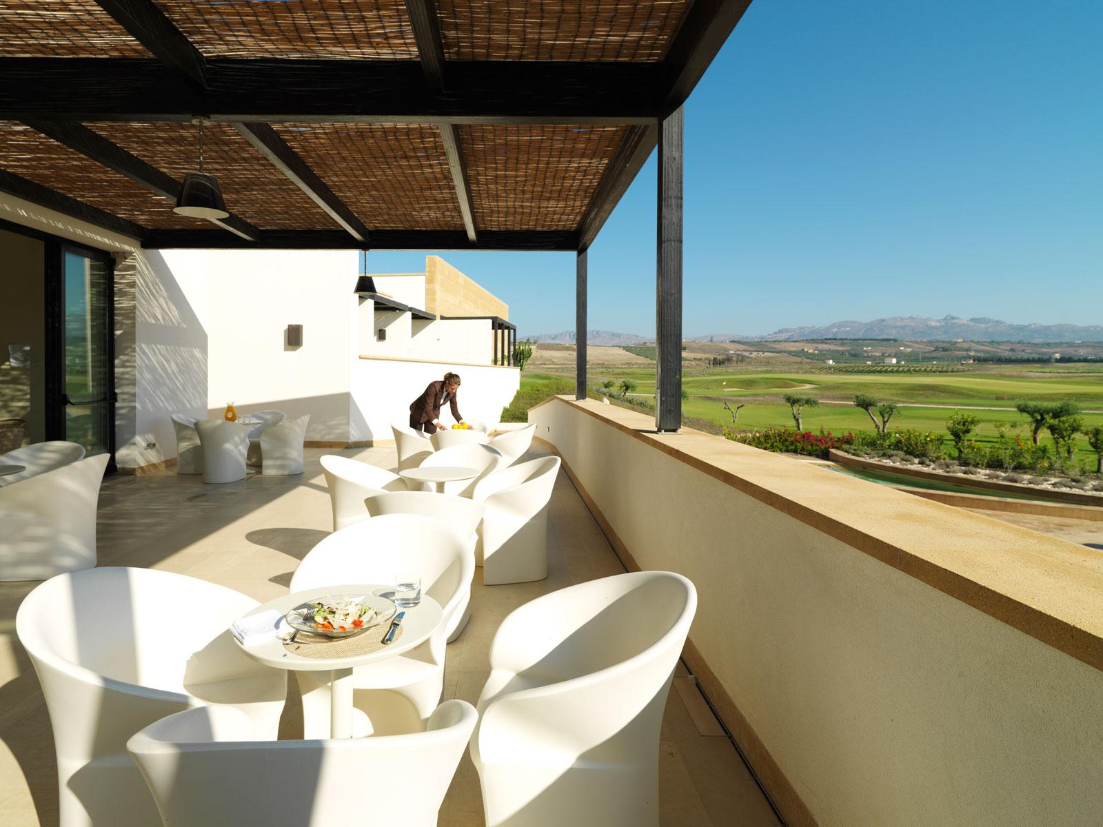 Verdura Resort Spa Bar Terrace