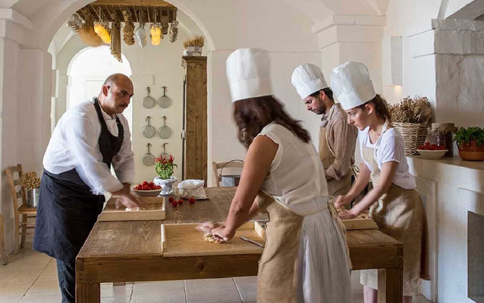Activities - Making Fresh Pasta at the Borgo Egnazia