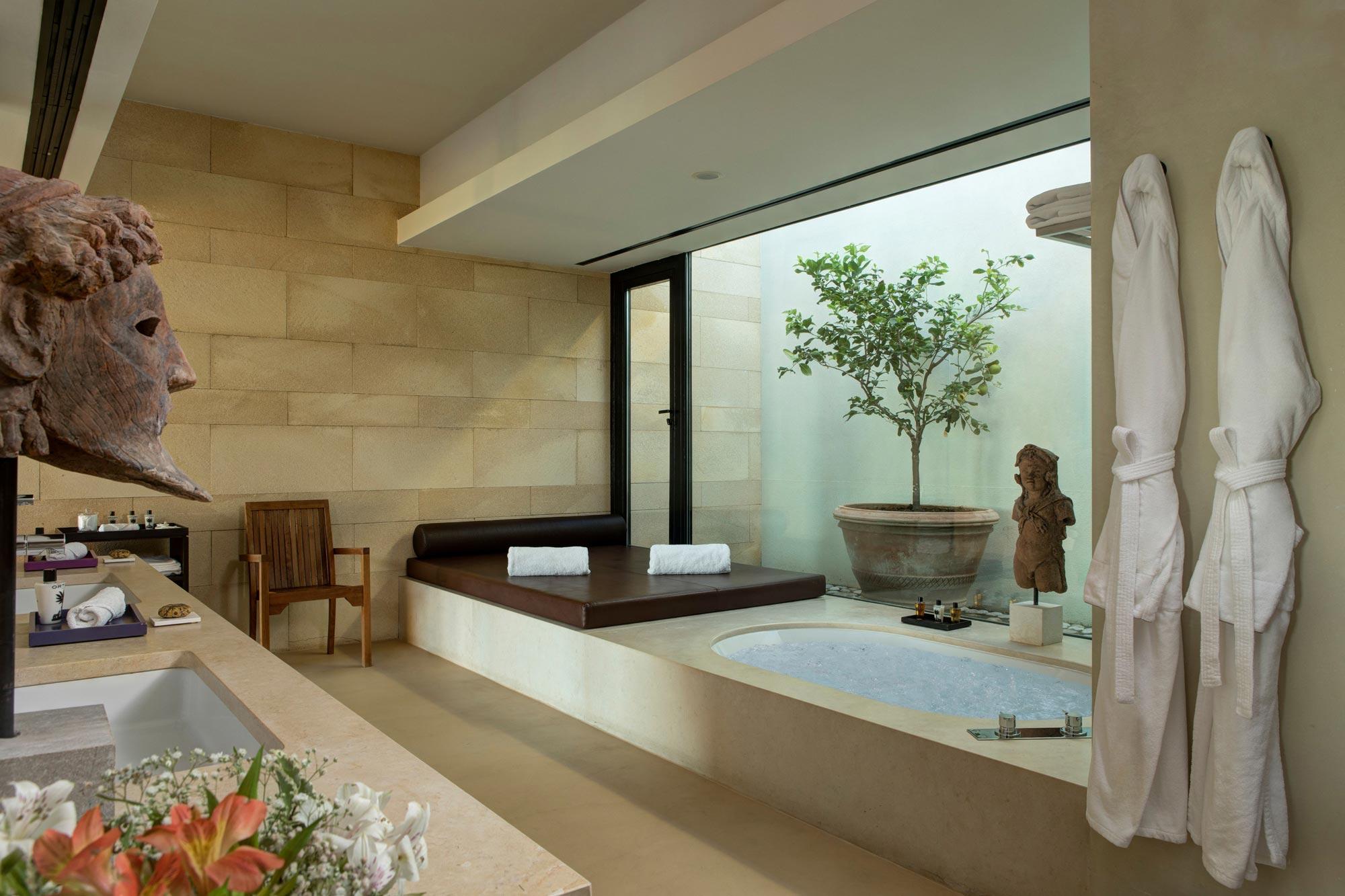 Bathroom at Villa Acacia