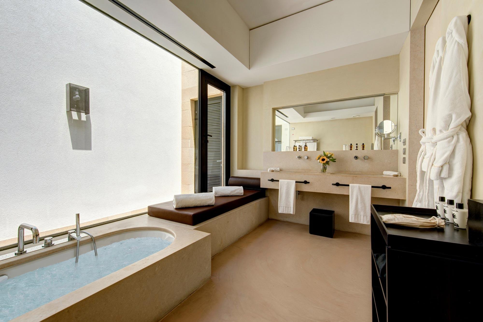 Bathroom at Villa Iris