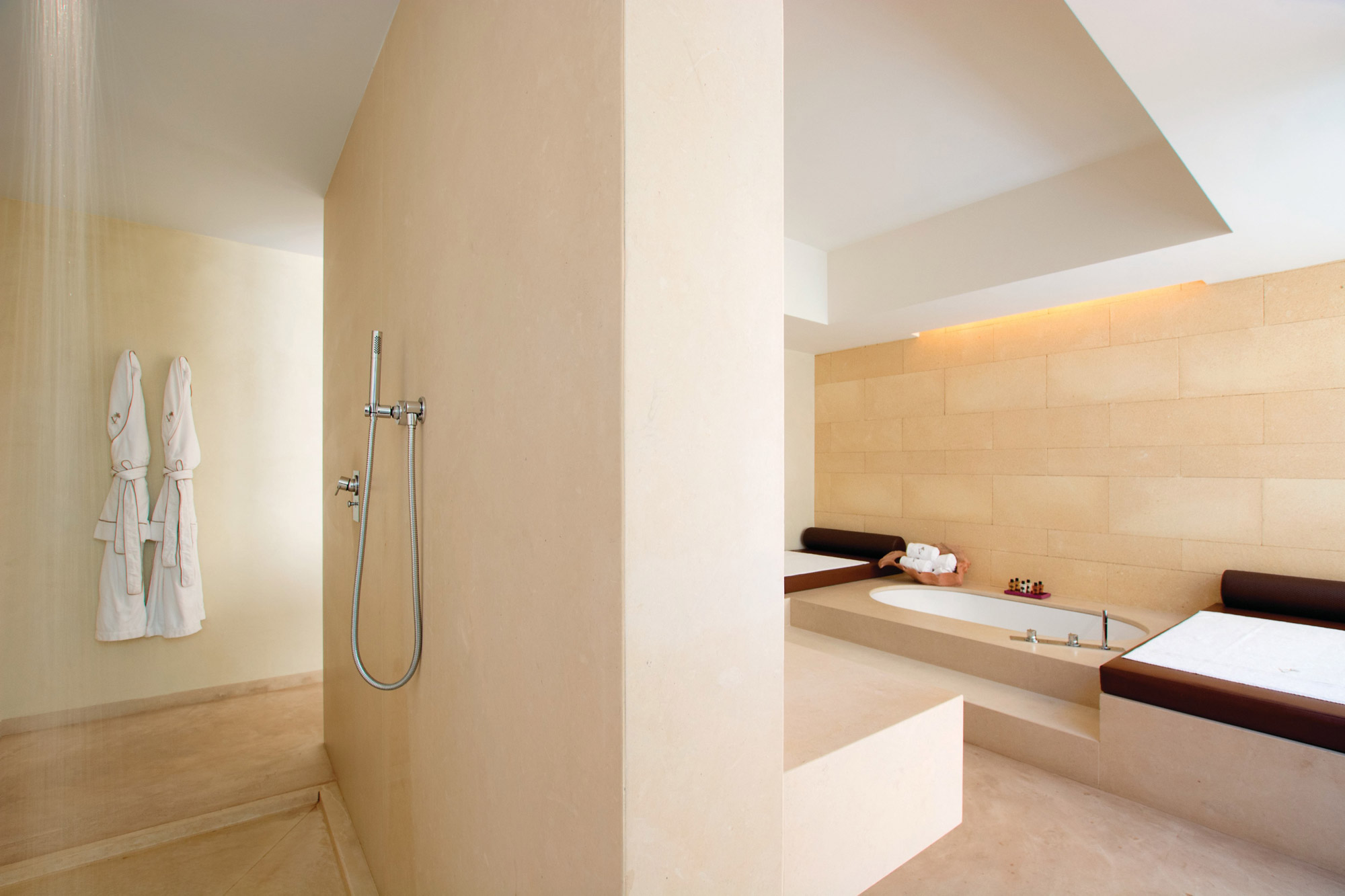 Bathroom at Villa Mimosa