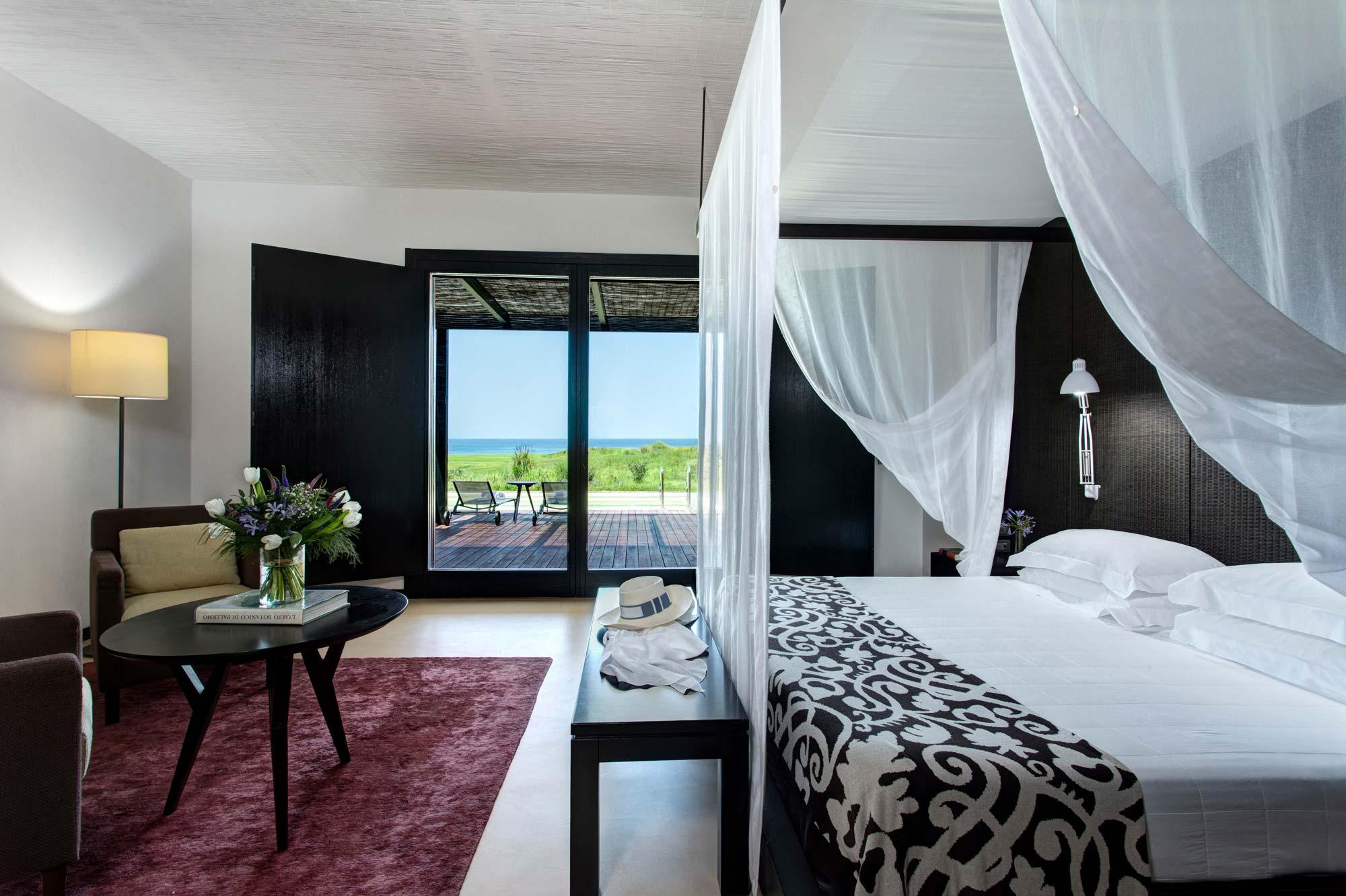 Bedroom at Villa Peonia
