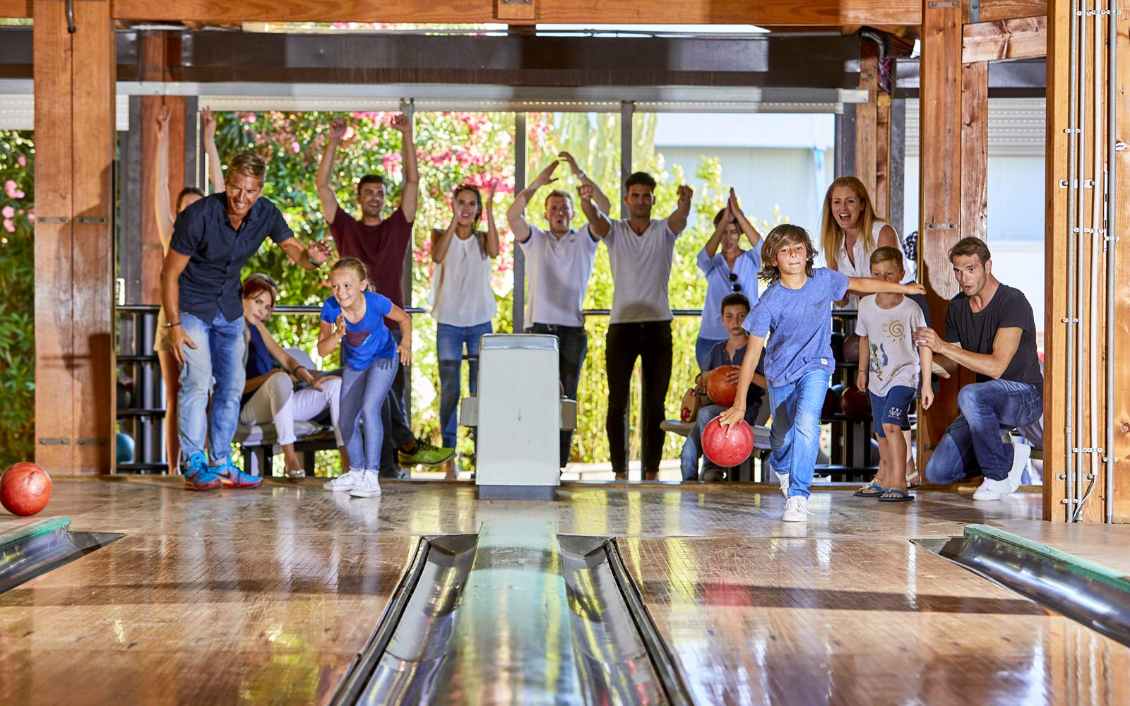 Bowling at Forte Village