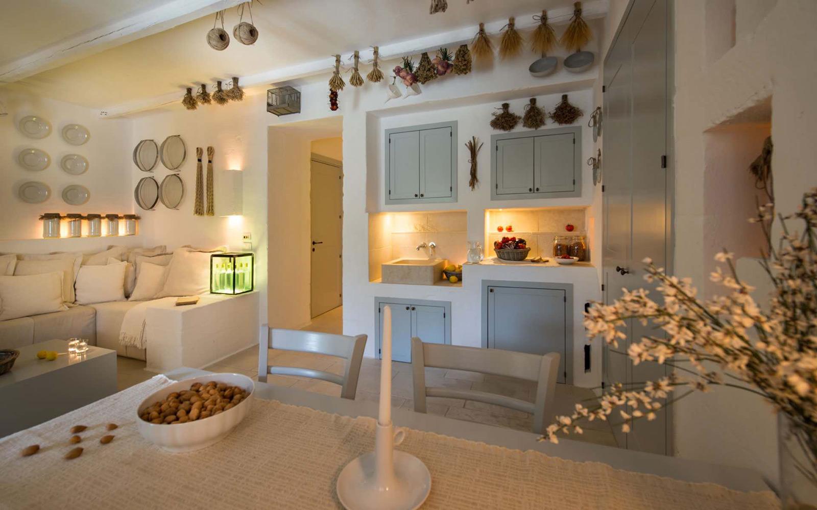 Casetta Splendida - Living Room