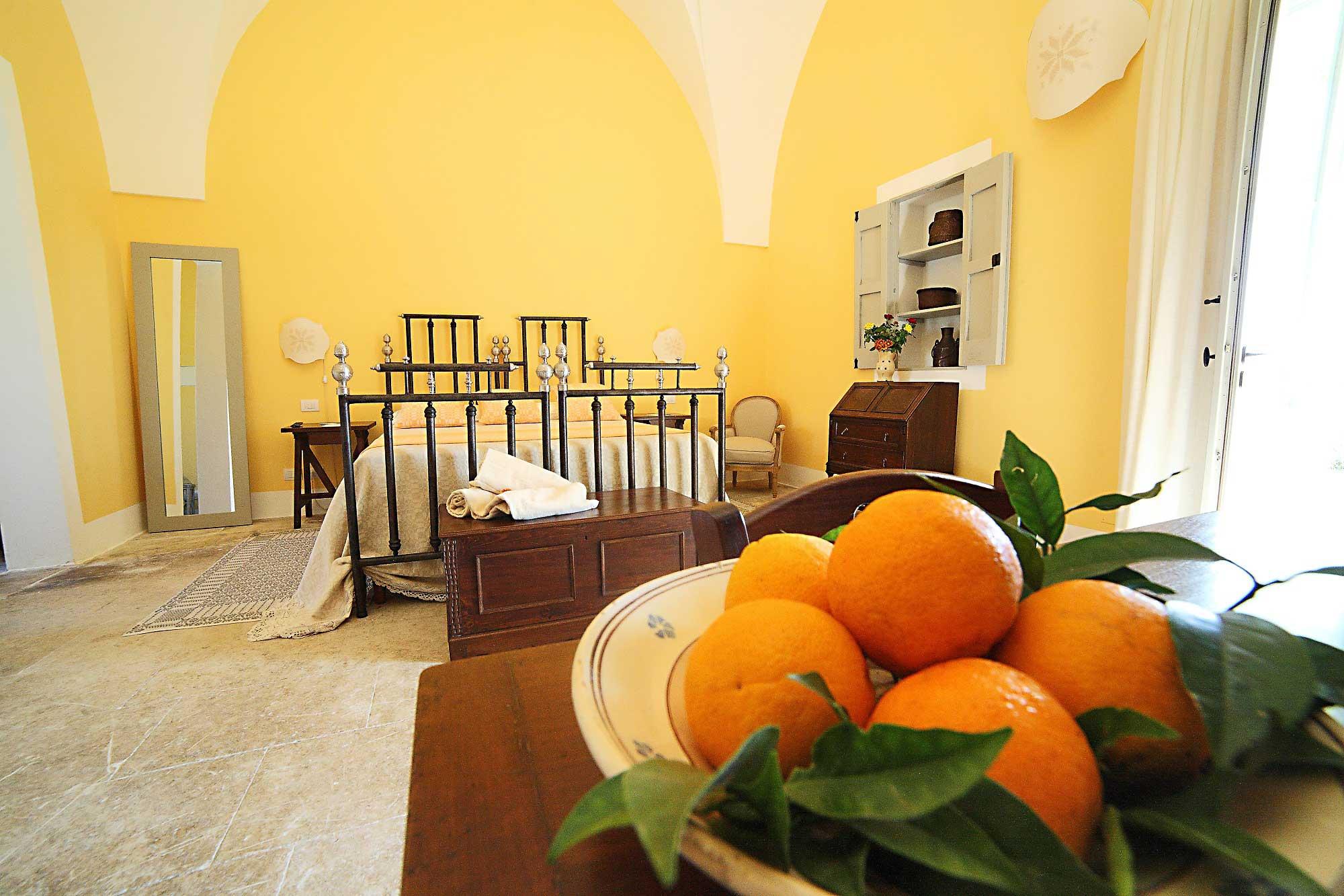 Double Deluxe Room- Arancio at Naturalis Bio Resort & Spa