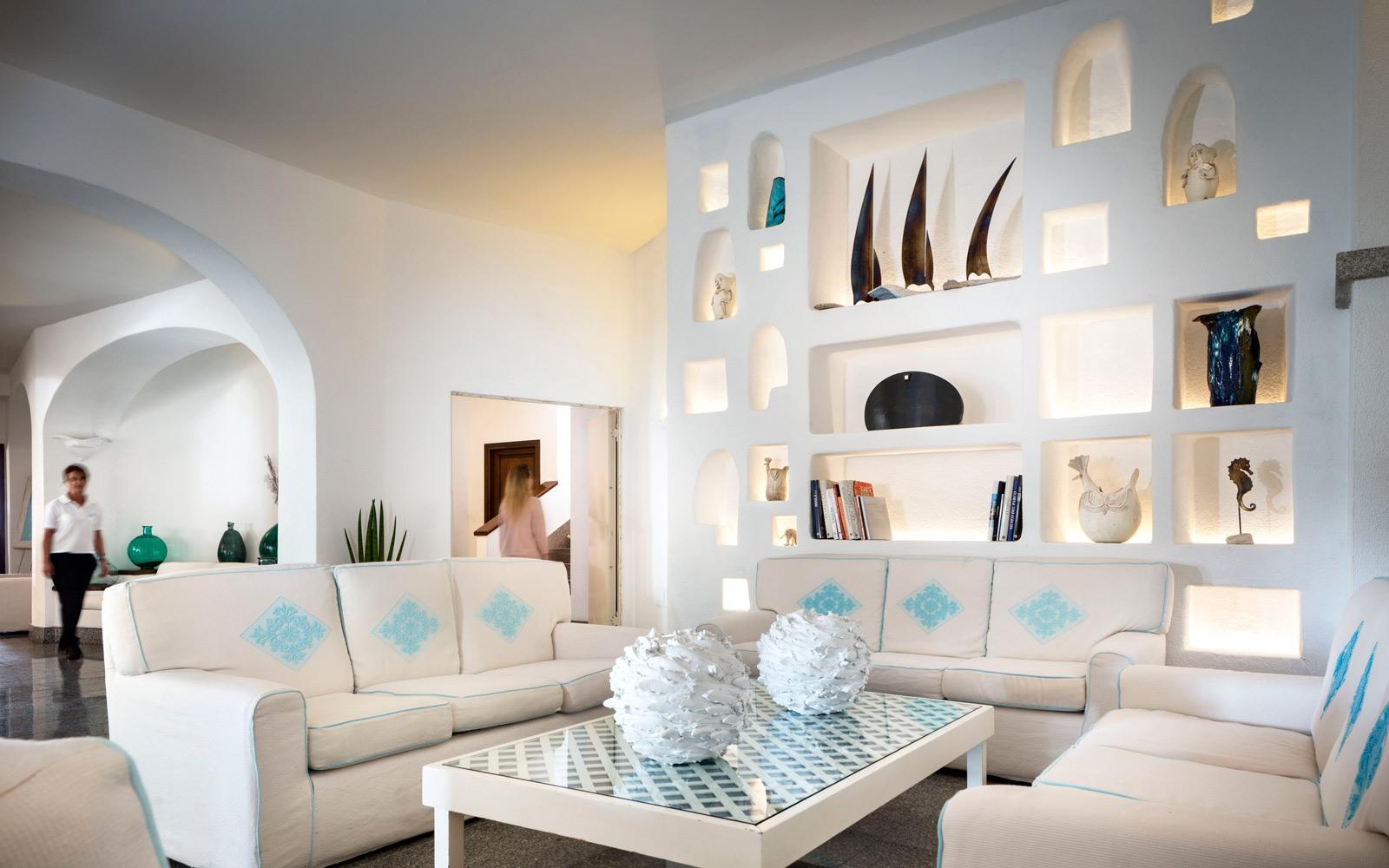 Lobby at Gabbiano Azzurro Hotel & Suites