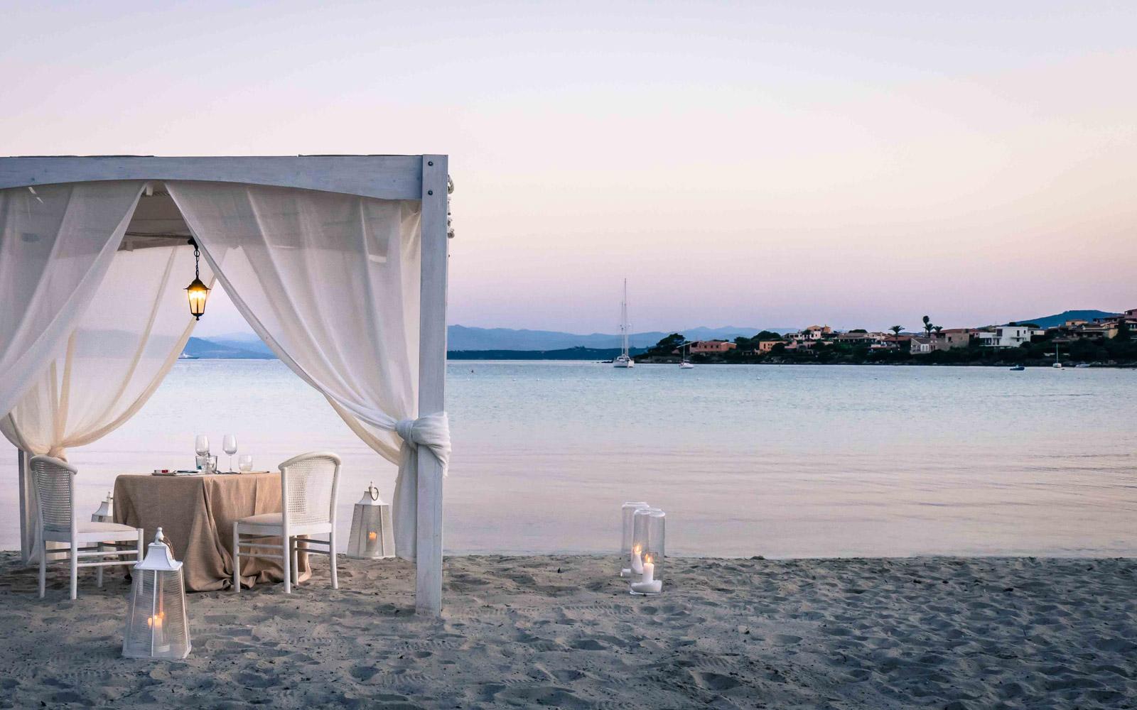 Romantic Dinner at Gabbiano Azzurro Hotel & Suites