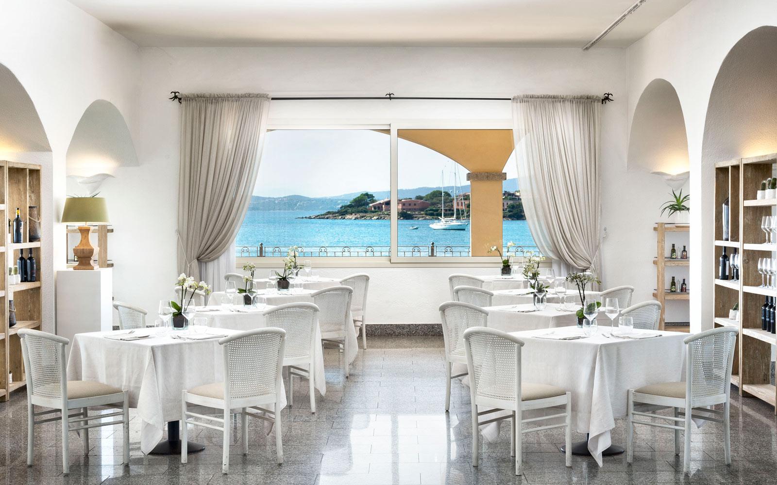 Restaurant at Gabbiano Azzurro Hotel & Suites