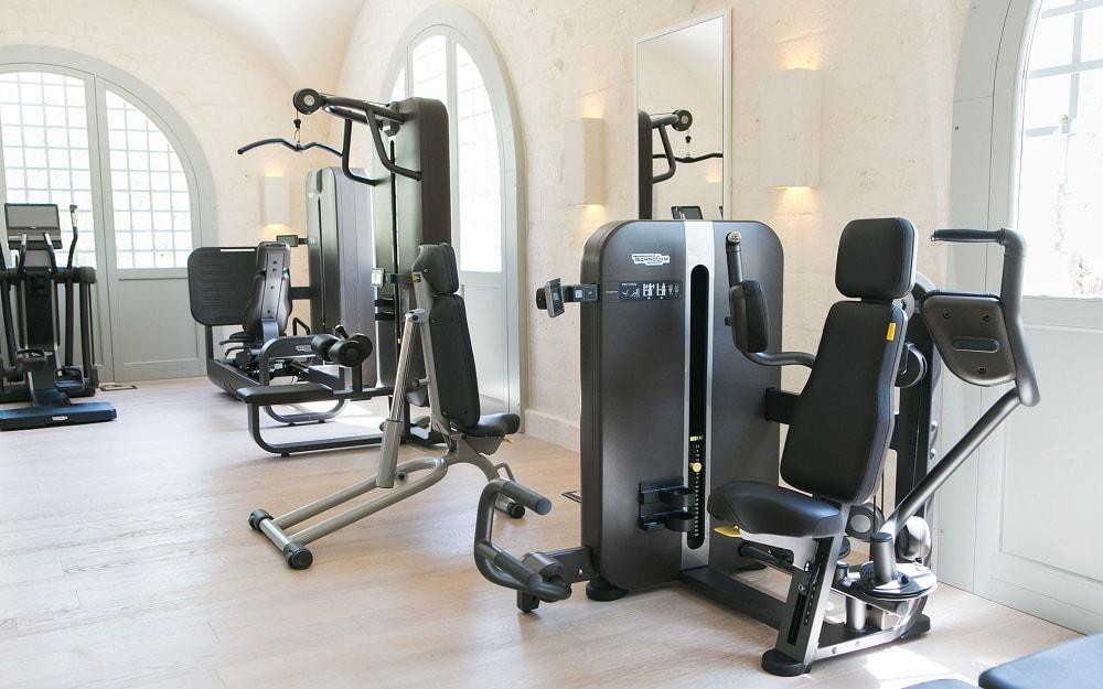 Gym at the Borgo Egnazia