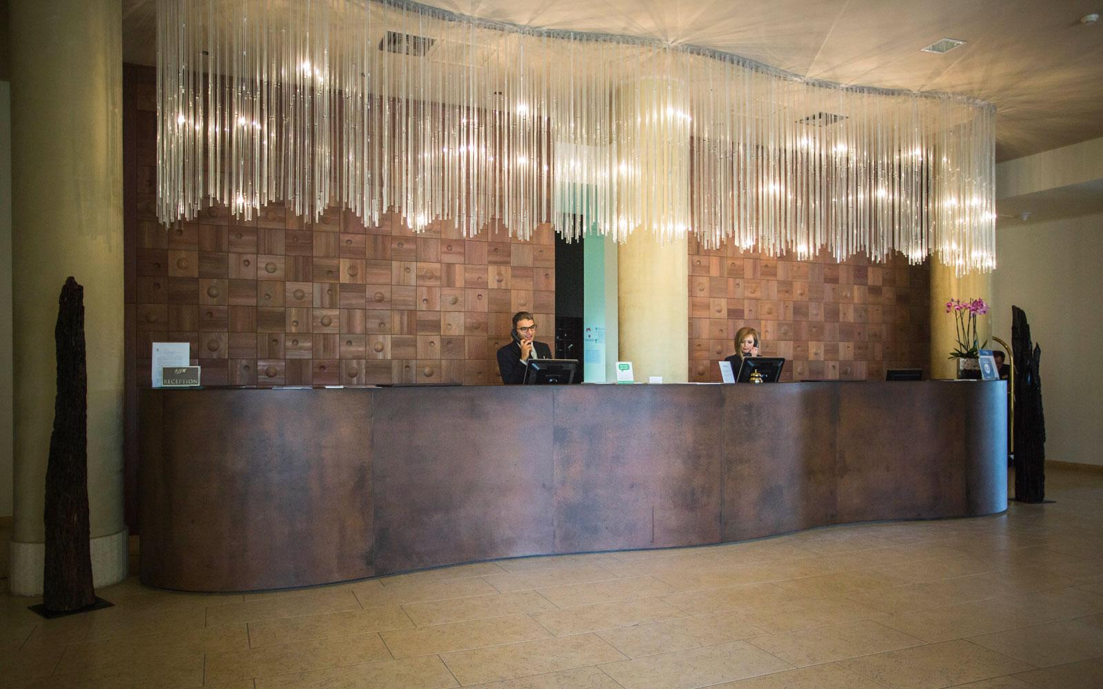 Hotel Marinagri Reception