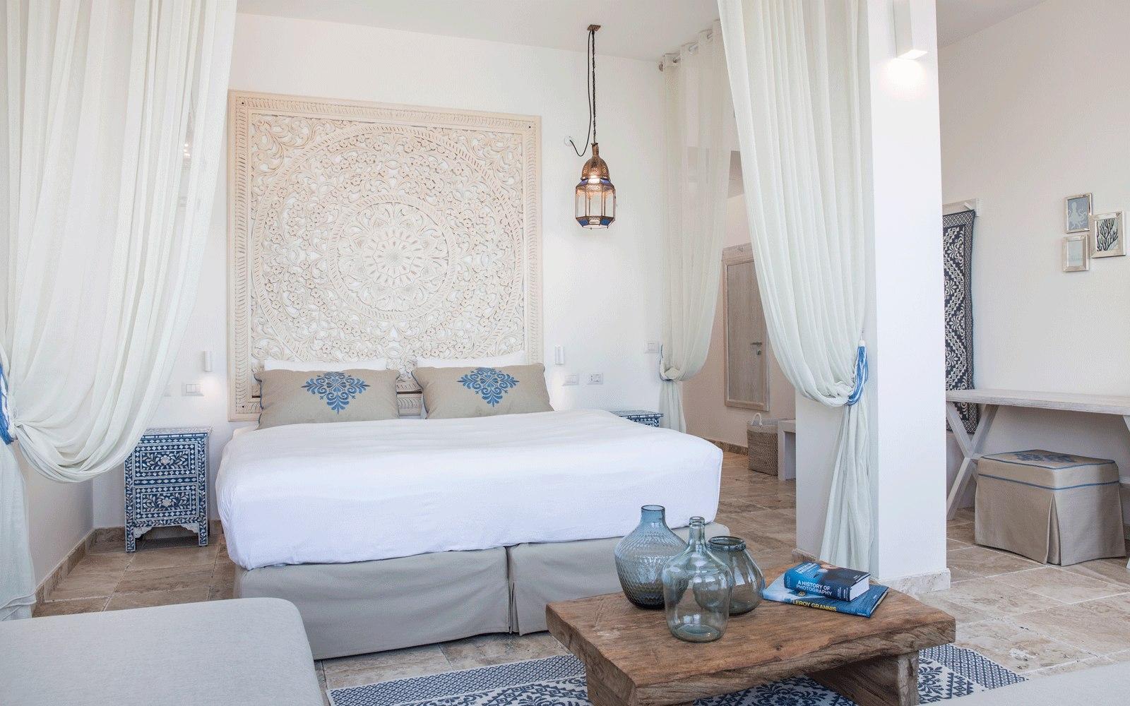 Junior Suite Sea View at Capo Boi Resort