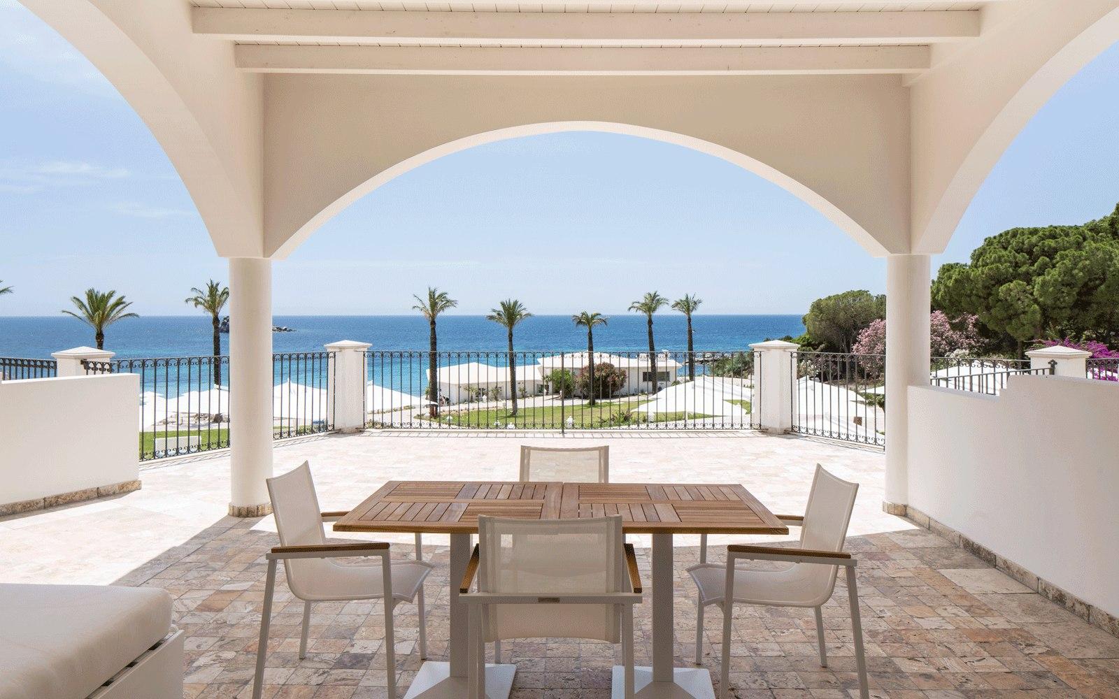 Suite Terrace at Capo Boi Resort