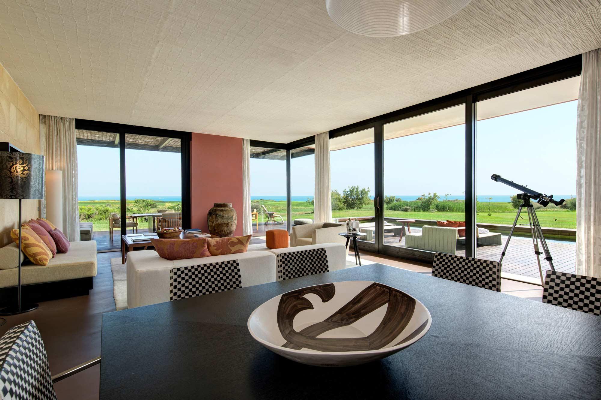 Living Room at Villa Acacia