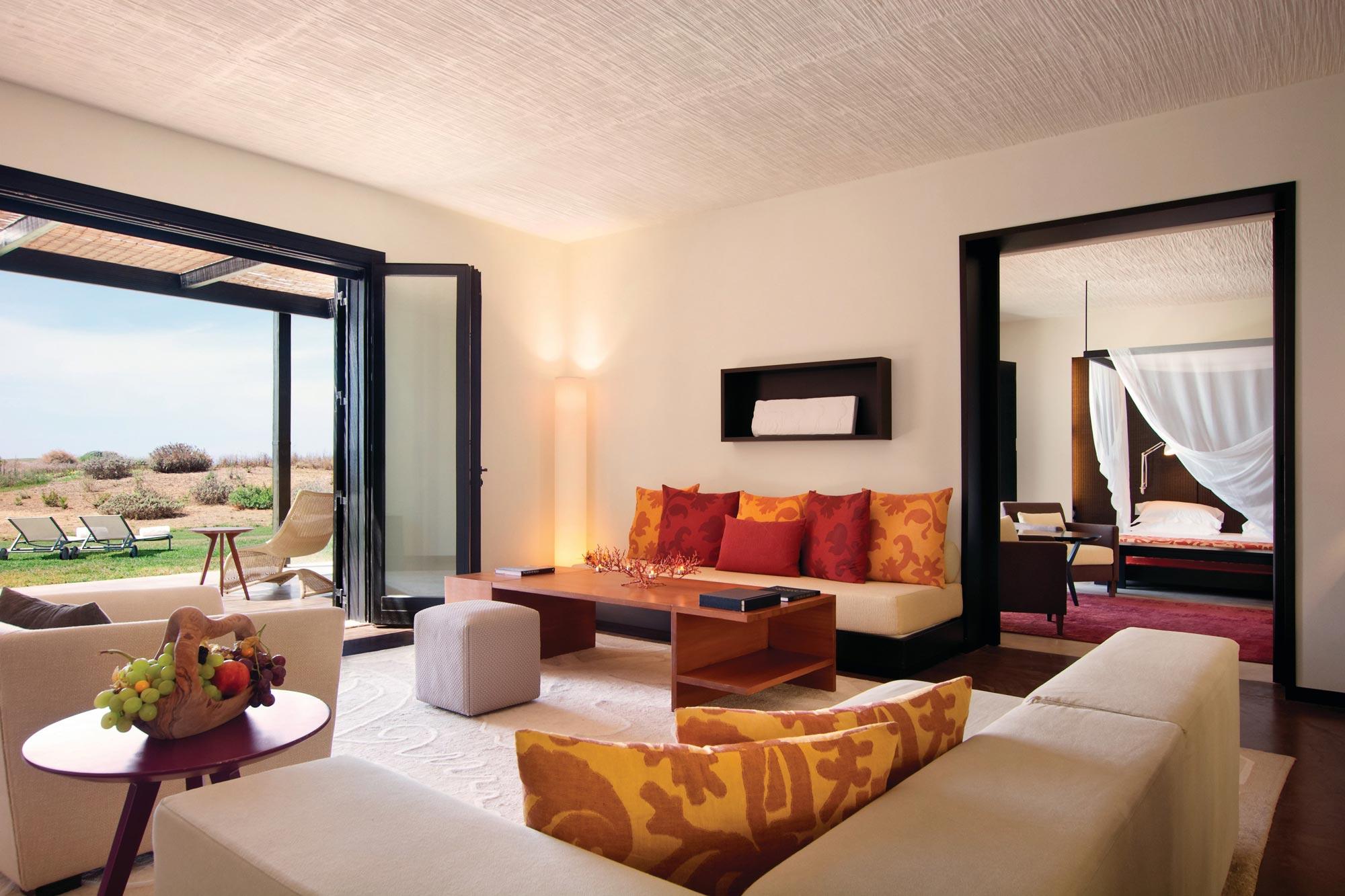 Living Room at Villa Mimosa