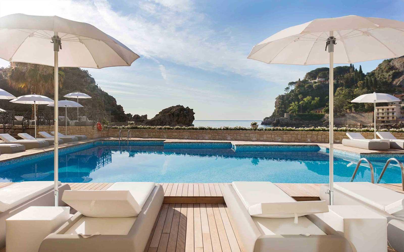 Pool at Grand Hotel Mazzaro Sea Palace