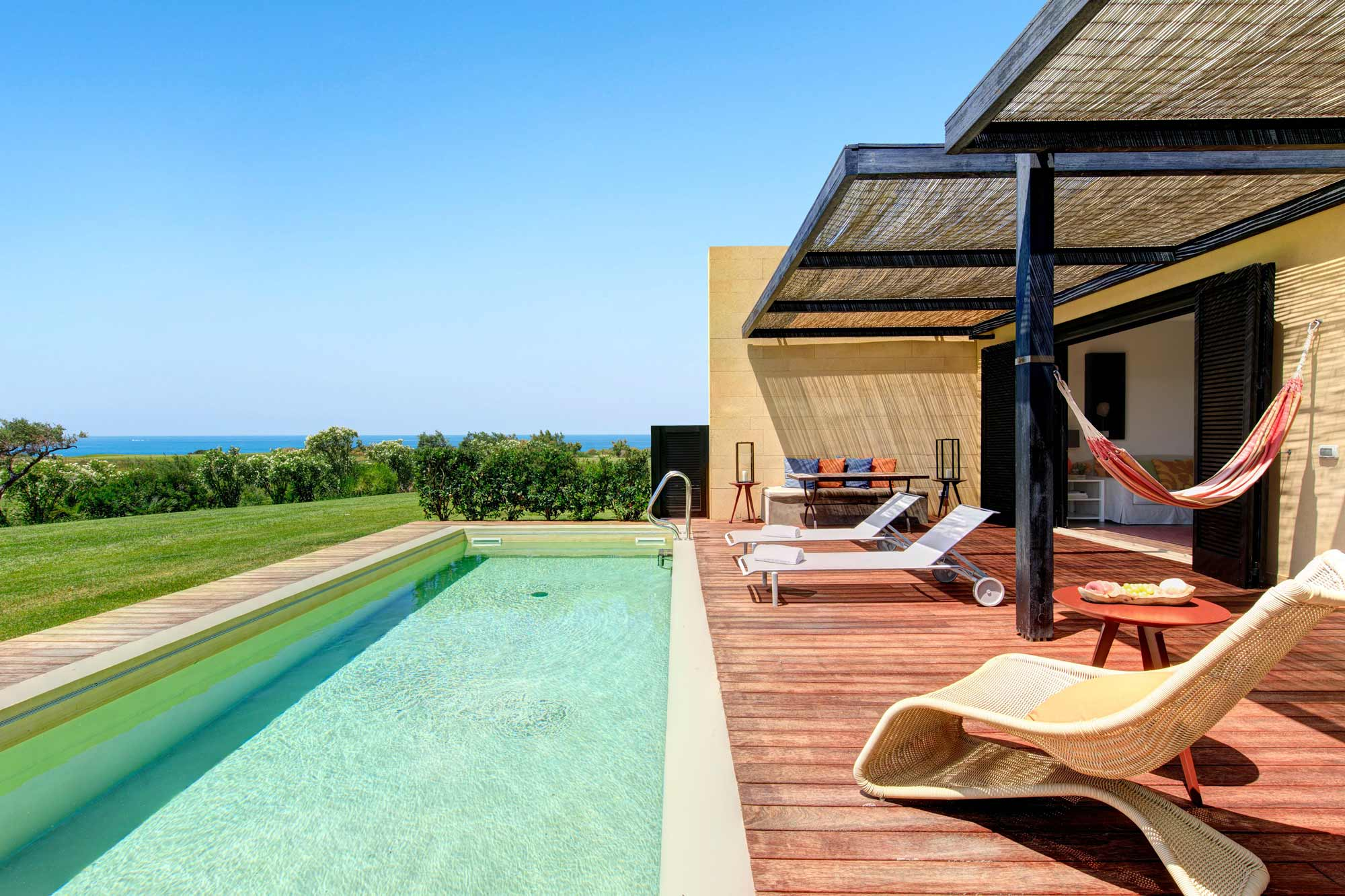 Swimming Pool at Villa Iris
