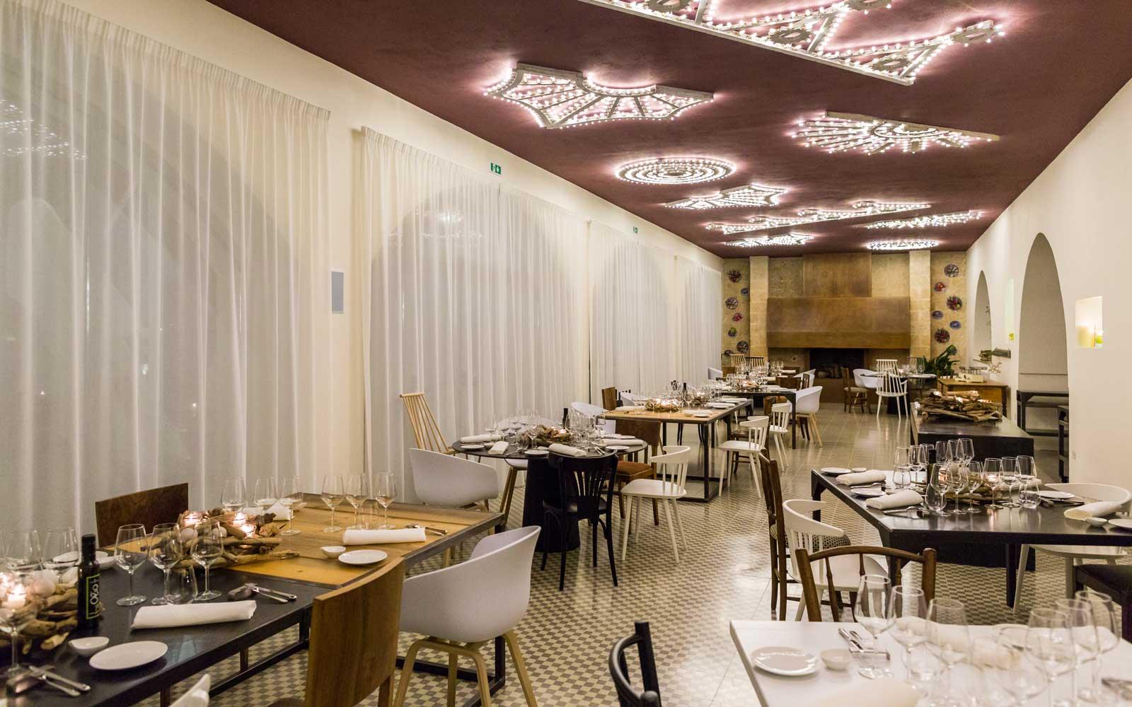 Restaurant at Vinilia Wine Resort