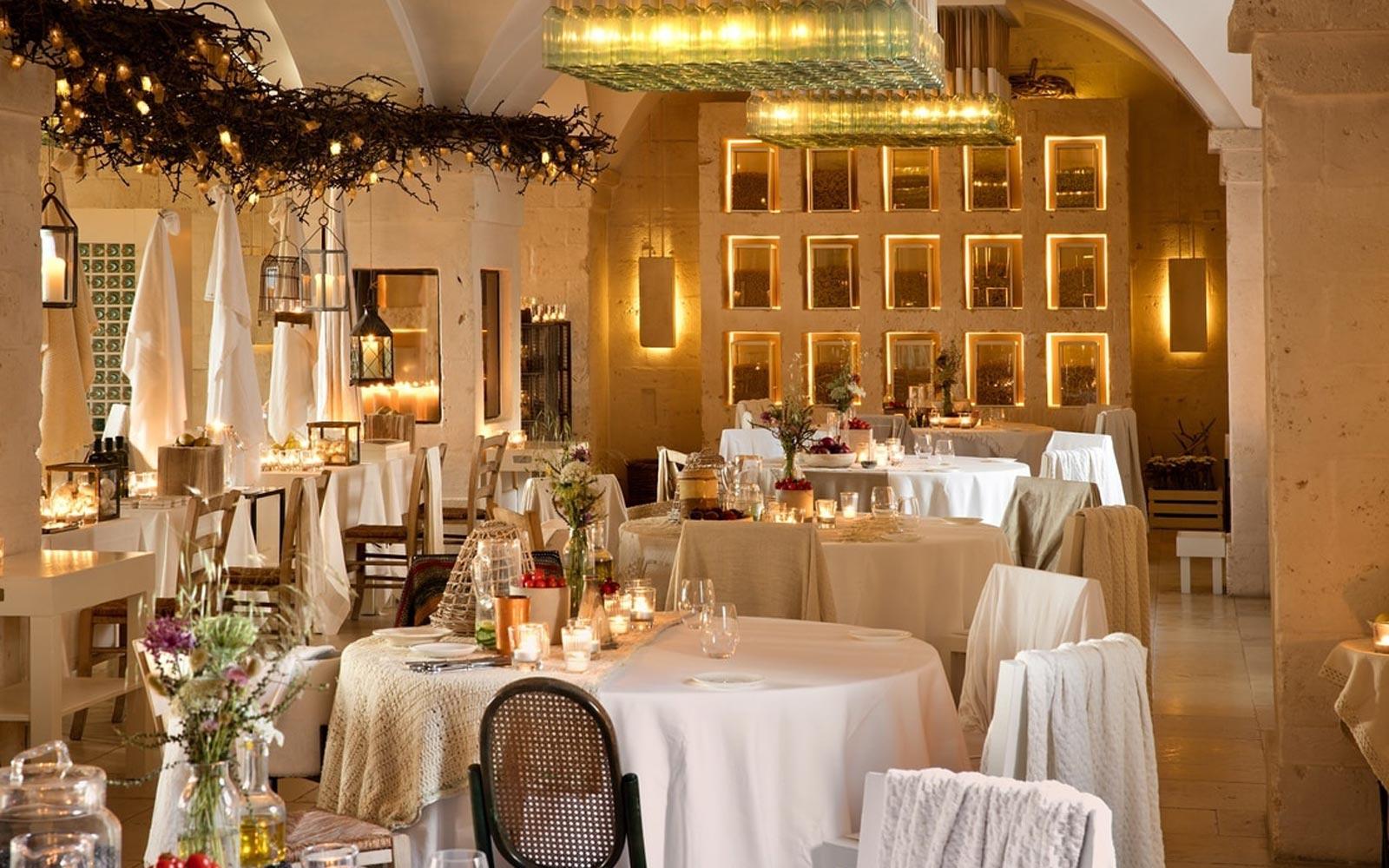 Restaurant at the Borgo Egnazia