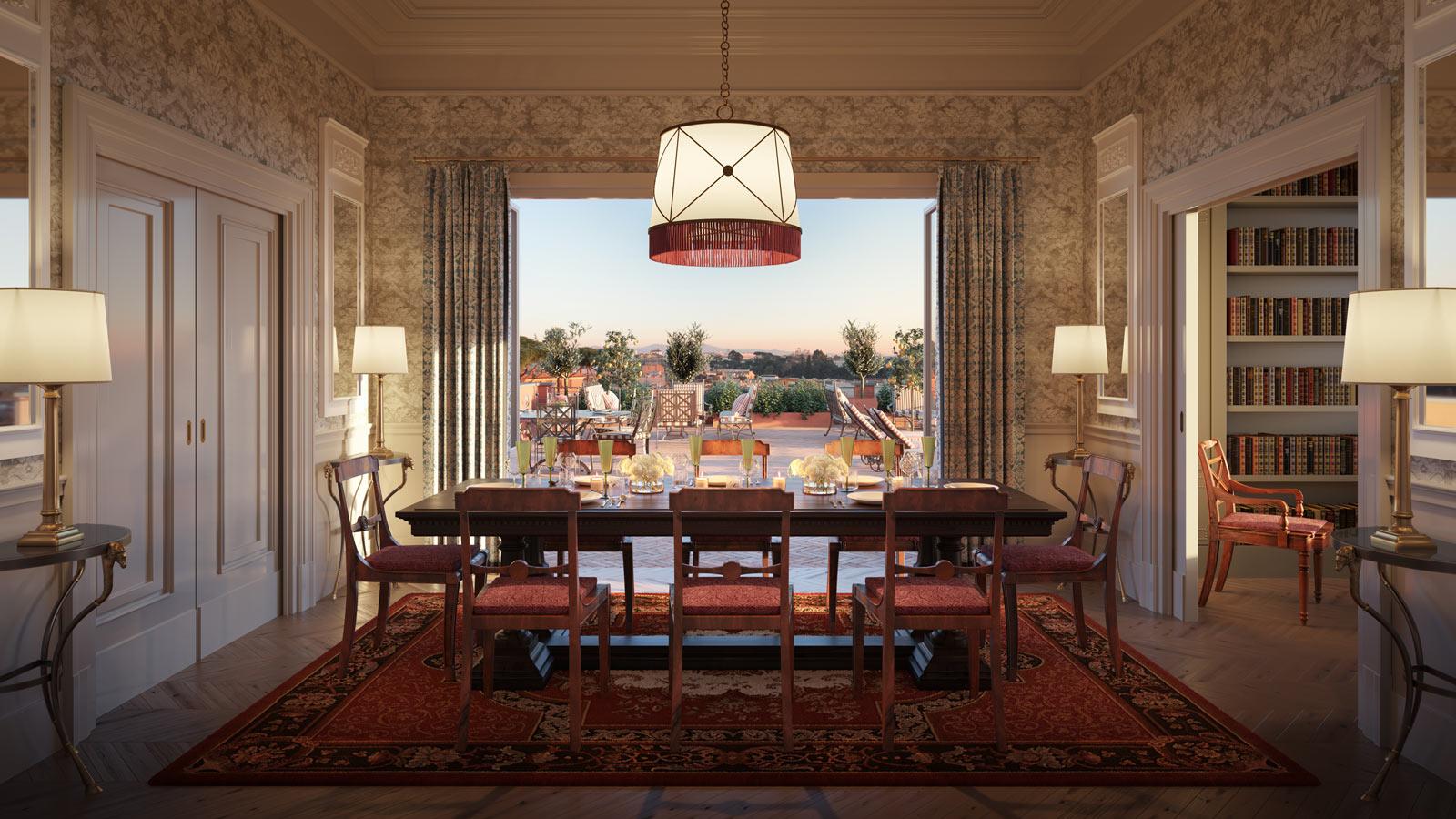 Hotel del la Ville Presidential Suite