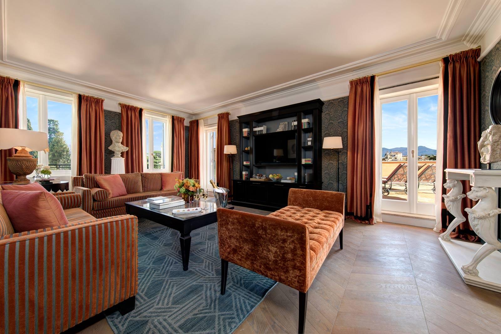 Hotel del la Ville Roma Suite