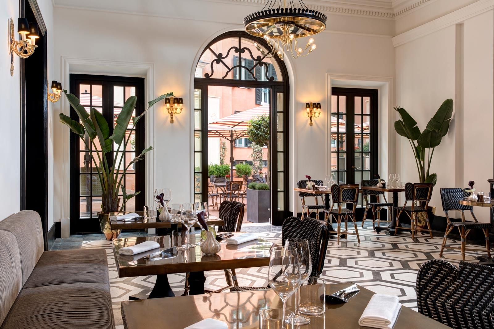 Hotel de la Ville Mosaico Restaurant