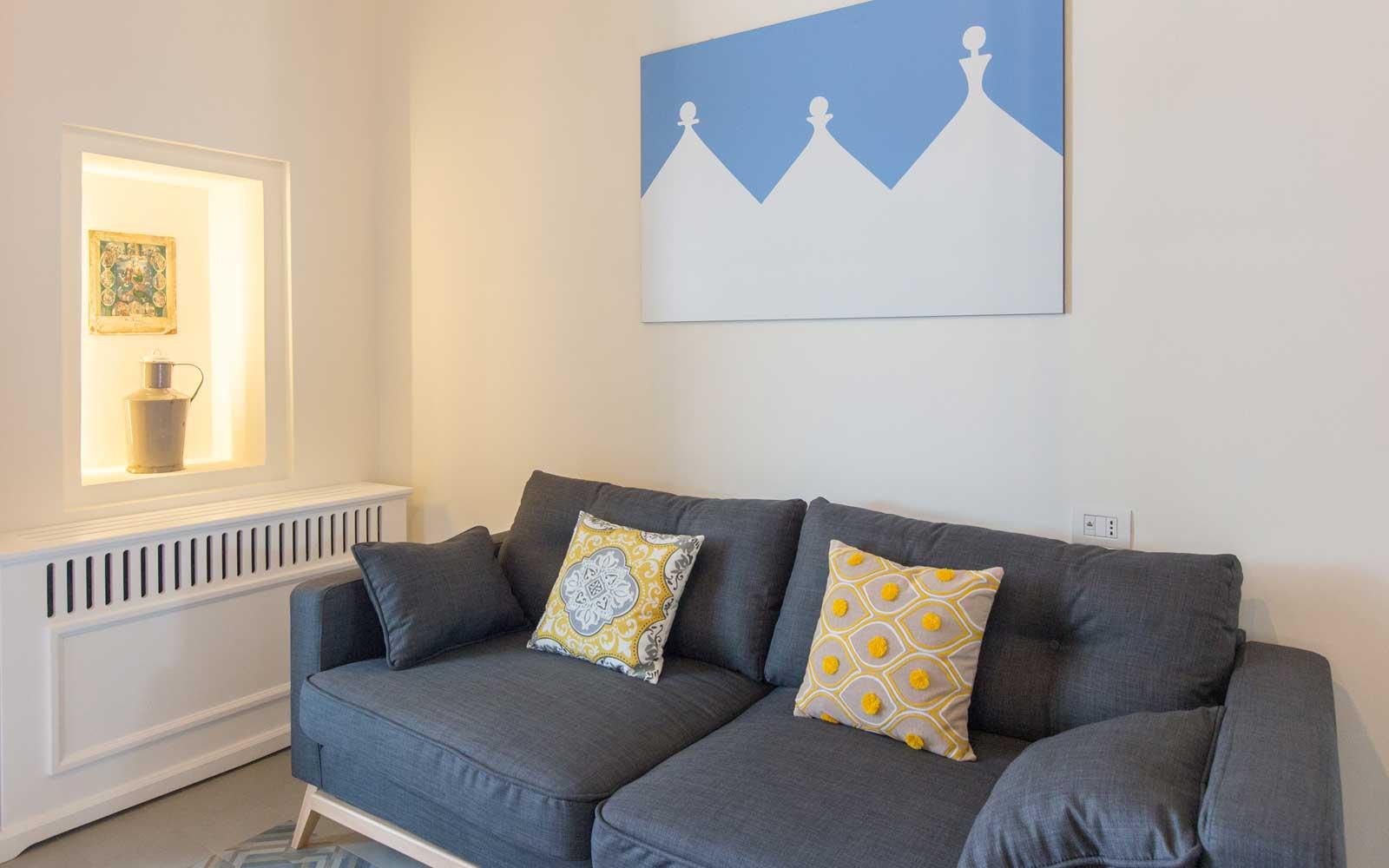 Suite Lounge Area at Vinilia Wine Resort