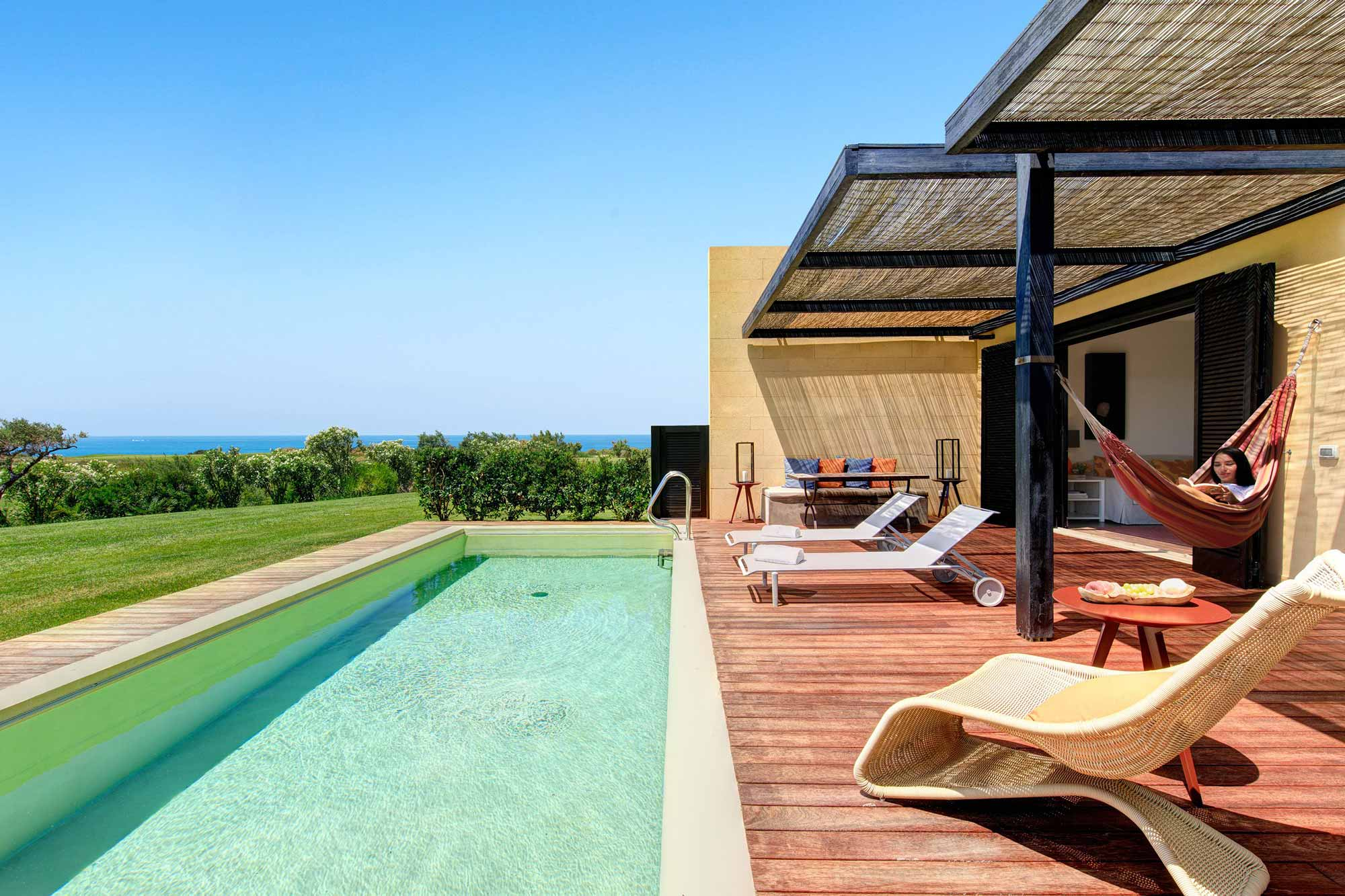 Swimming Pool at Villa Tilia