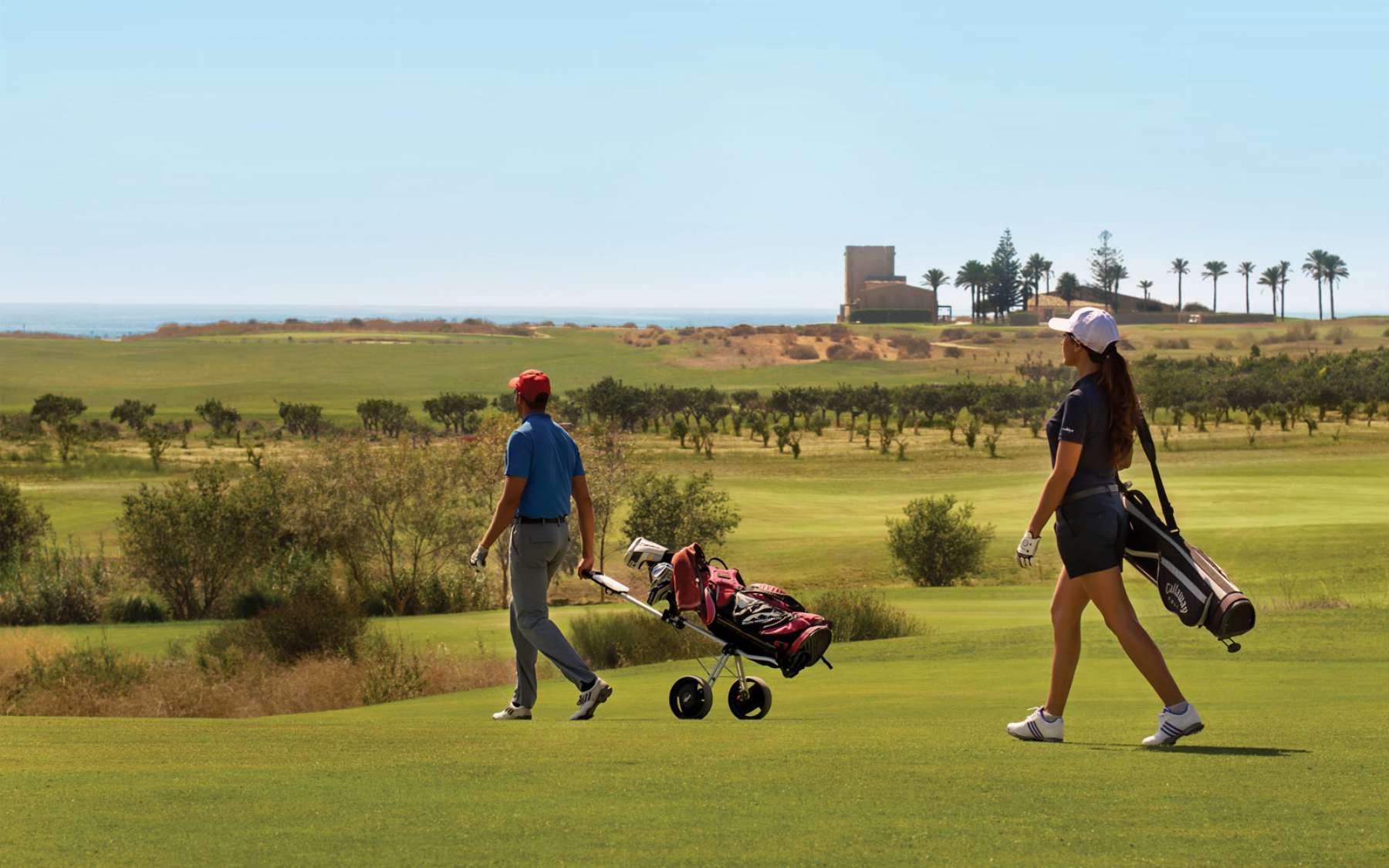 Golf course at Verdura Resort