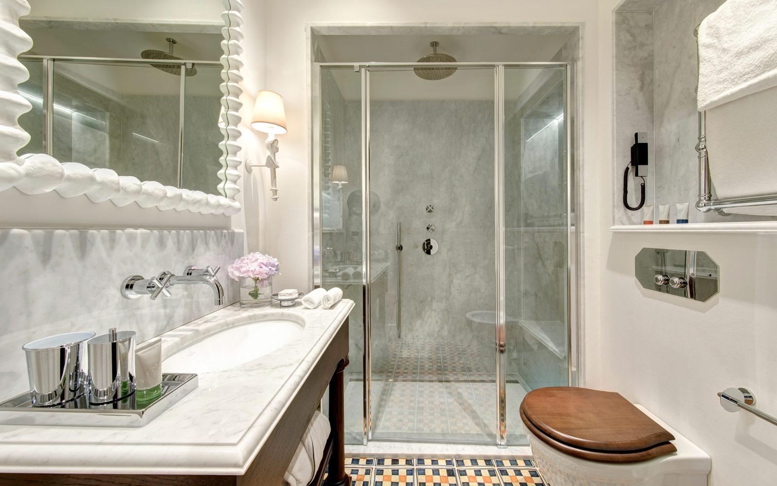 Villa Igiea Bathroom