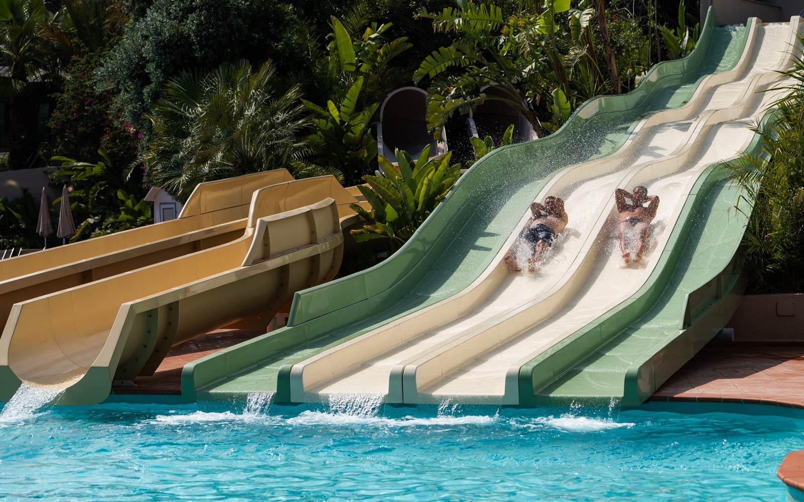 Water Slides at Forte Village Resort